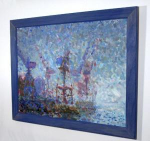 'Glasgow Docks I' by artist Jonathan Meuli
