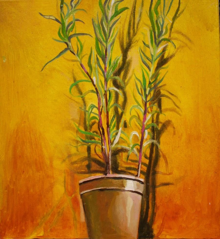 'Tarragon' by artist Rachel Vollerthun [ nee Sedley ]