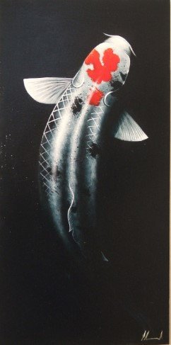 'Musashi' by artist Mark Nicholas Edward