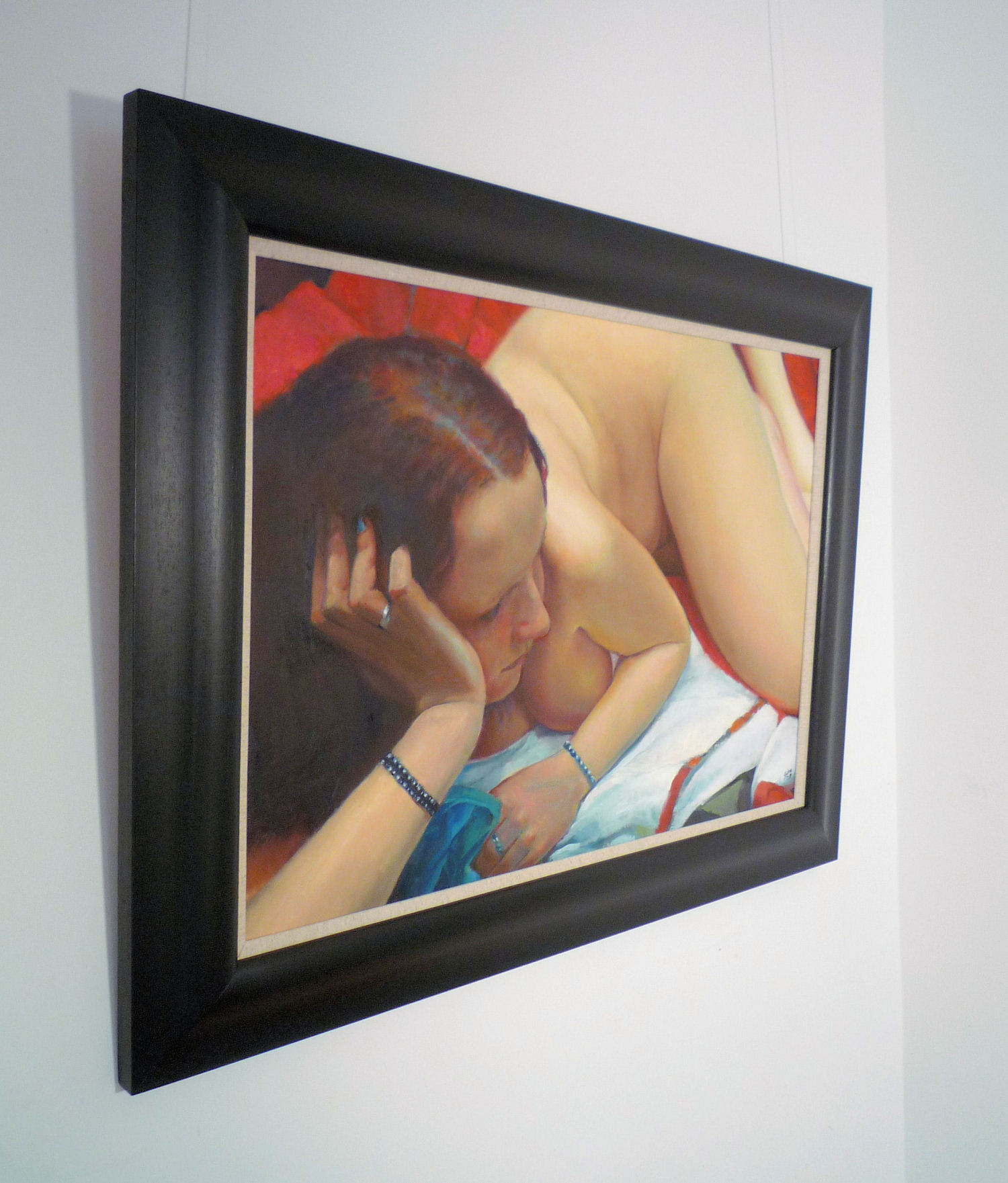 'Reclining Figure 2' by artist Stuart Sim