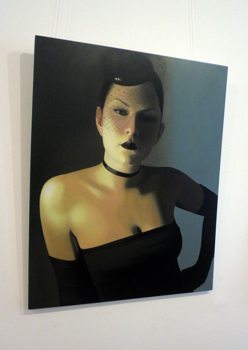 'Net Veil' by artist Patricia Rorie
