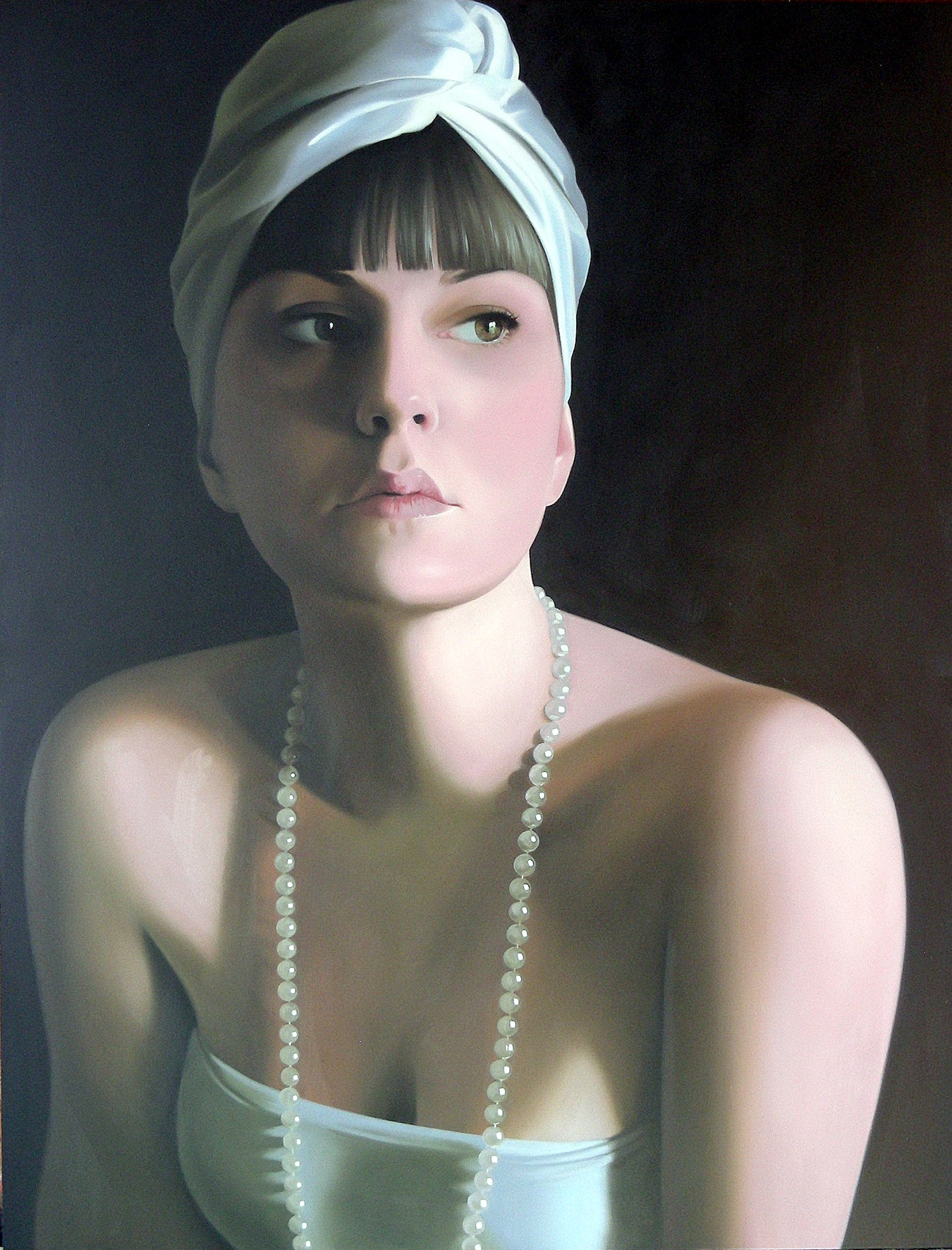 'White Turban' by artist Patricia Rorie