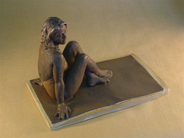 'Sunbather' by artist Walter Awlson