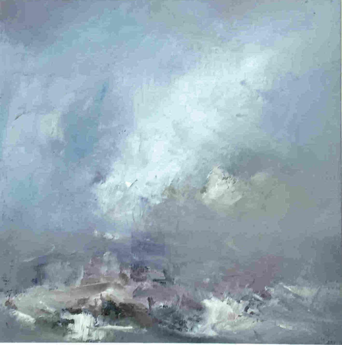 'Morning Storm off Barra' by artist Ian Rawnsley