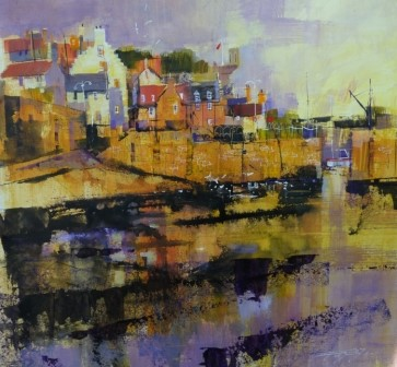 'Crail, Gulls and Reflections' by artist Chris Forsey
