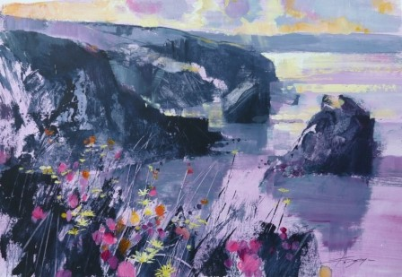'Cliff Edge and Bouquet' by artist Chris Forsey