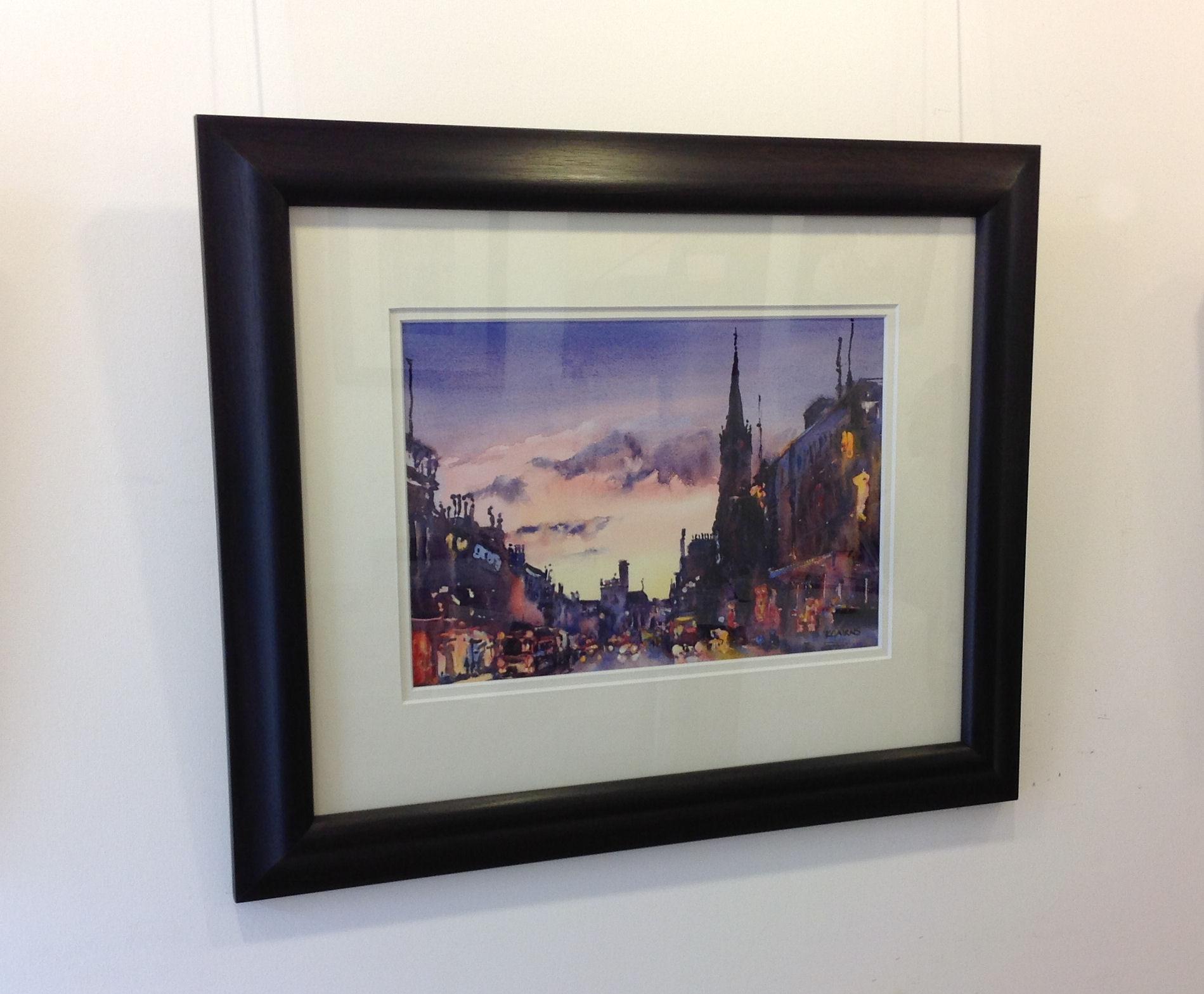 'Light in the North, Union Street, Aberdeen' by artist Karen Cairns