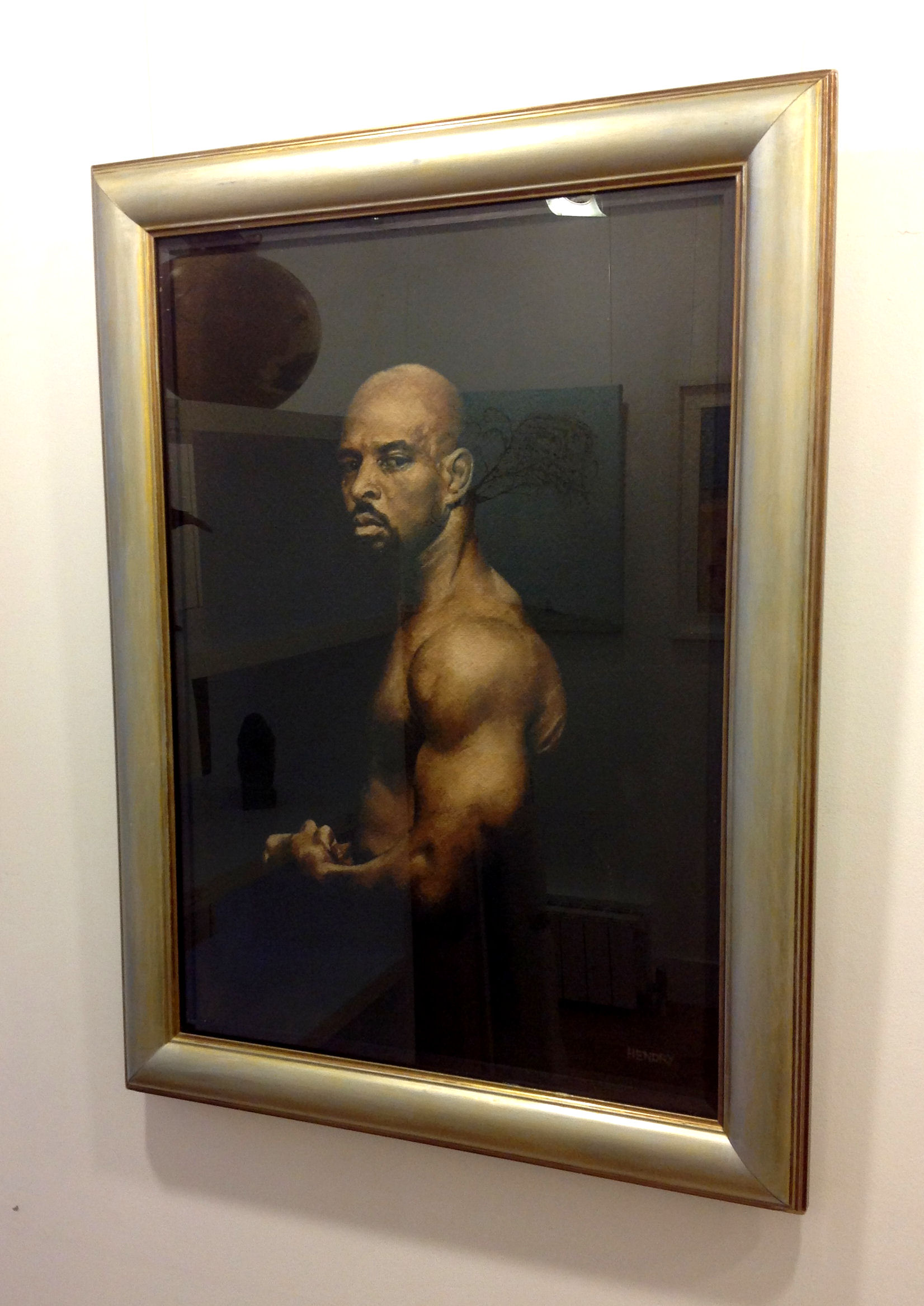 'UFC Boxer' by artist Steve Hendry