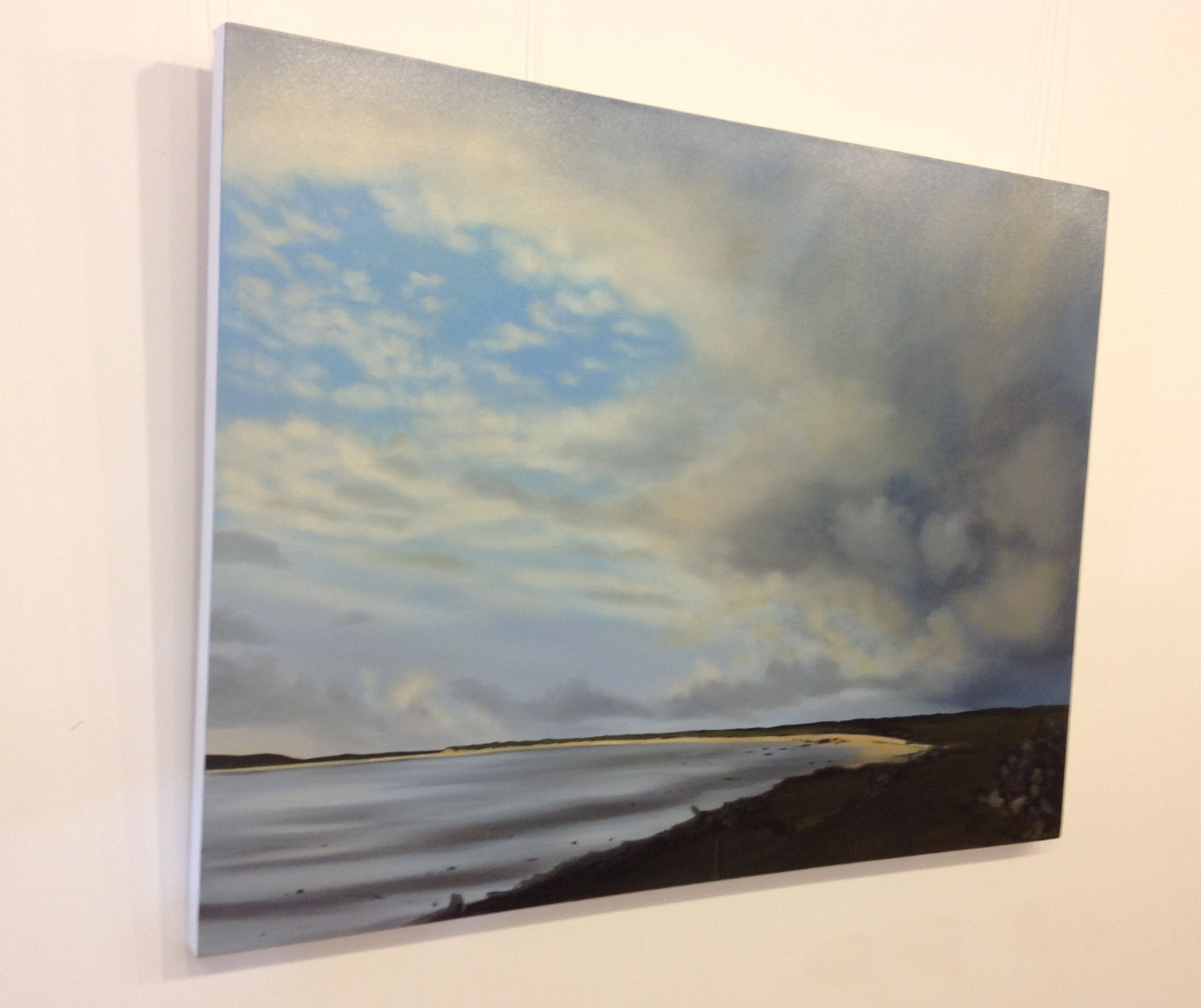 'Gloaming, Vallay Sound' by artist Nicola Wakeling