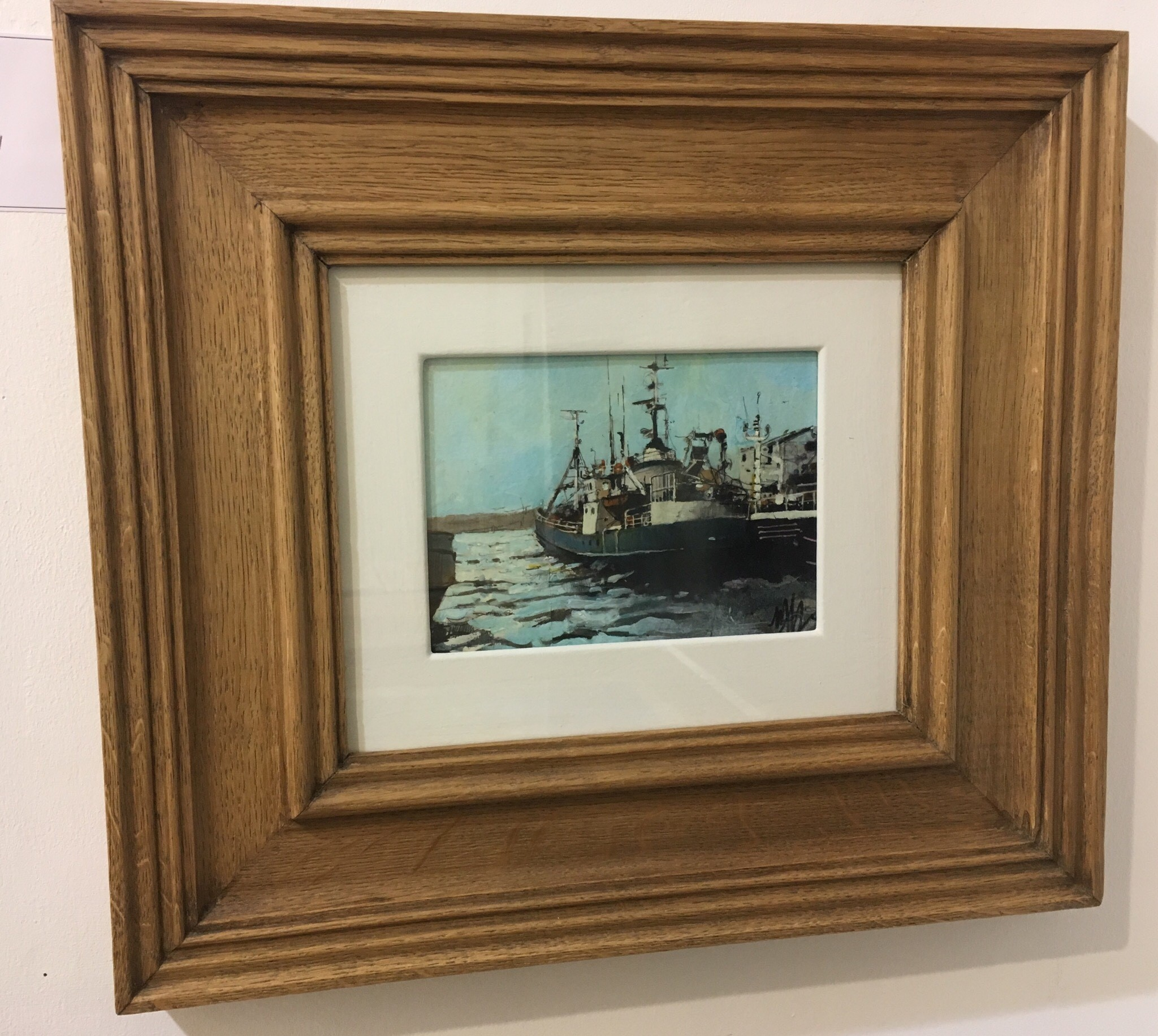 'Ullapool Fishing Boat' by artist Malcolm Cheape