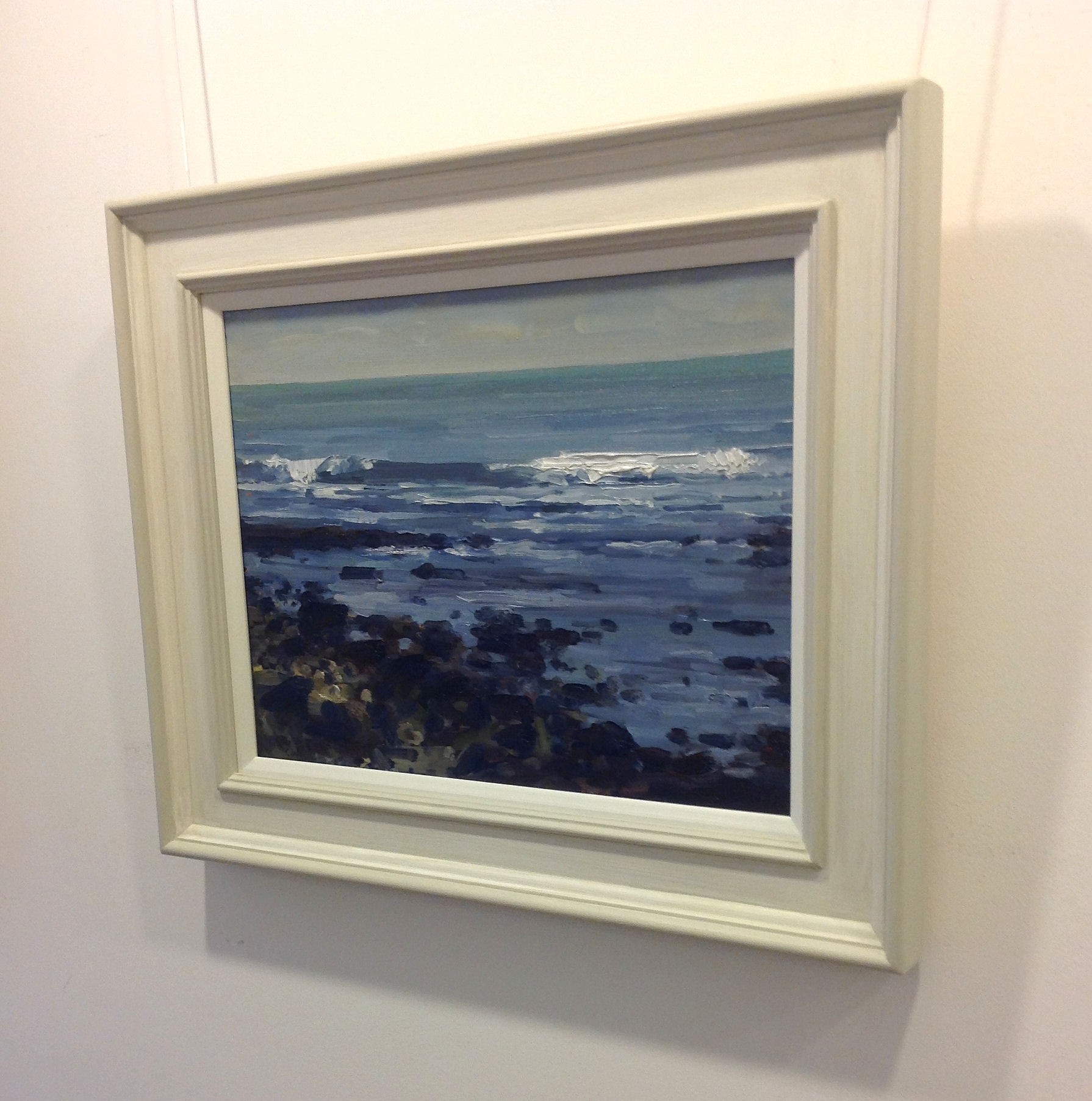 'Breaking waves' by artist Colin Willey