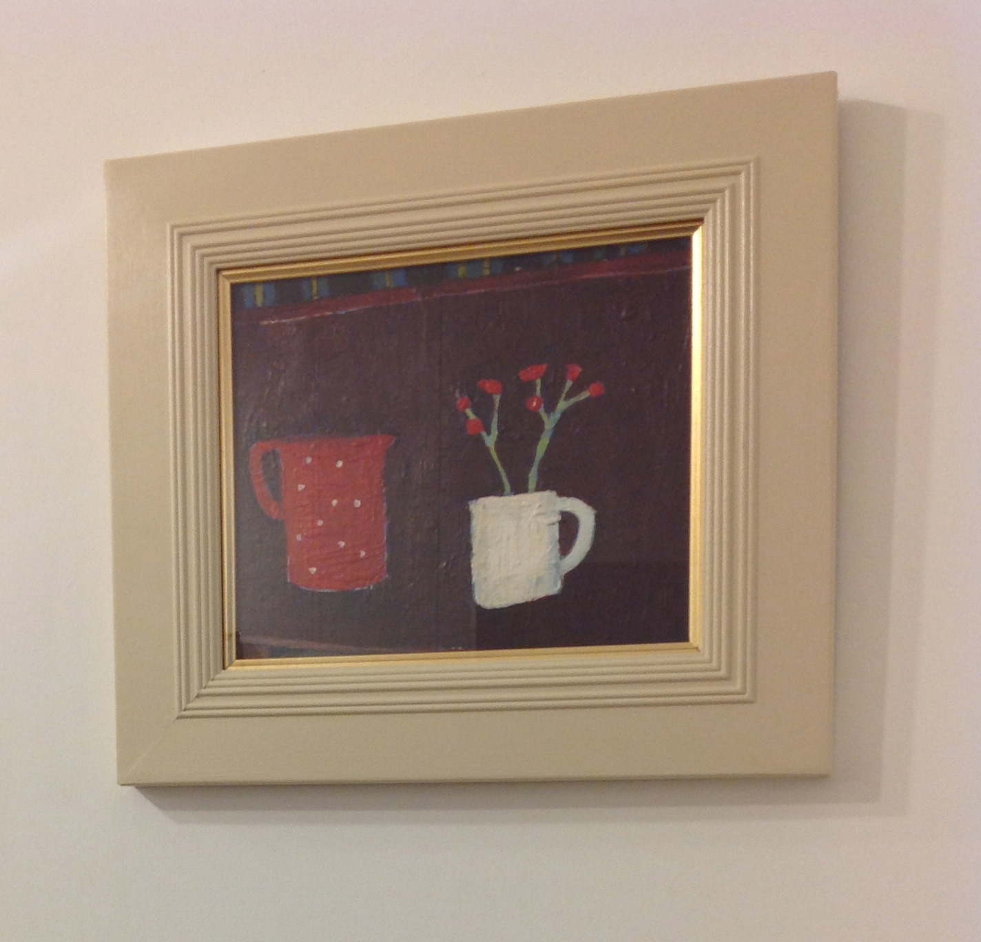 'Red and Brown' by artist Kevin Hutchison-Orr