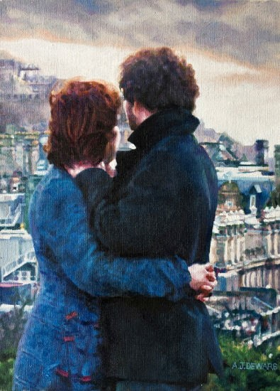 'Edinburgh' by artist Alex Dewars