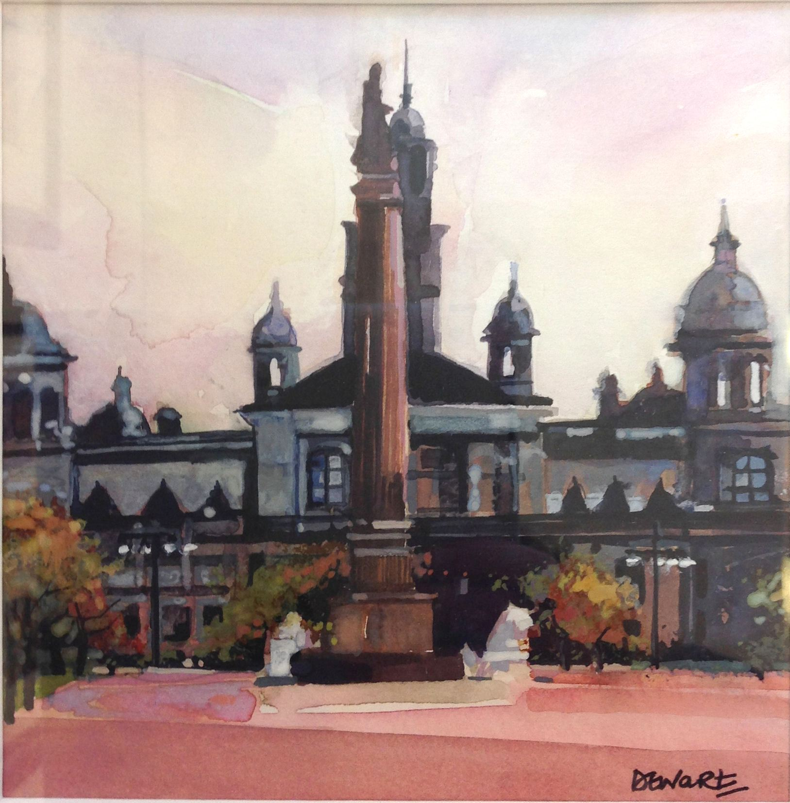'George Square' by artist Carol Dewart