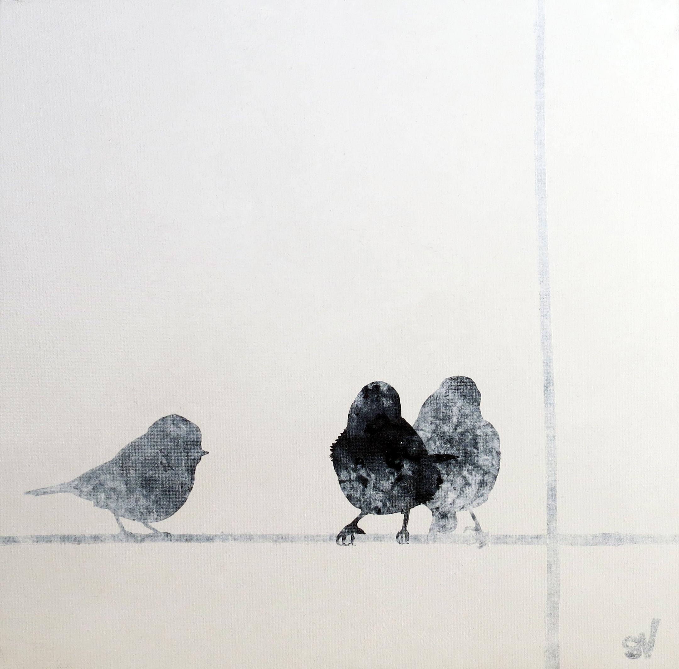 'Bluetit' by artist Sandra Vick