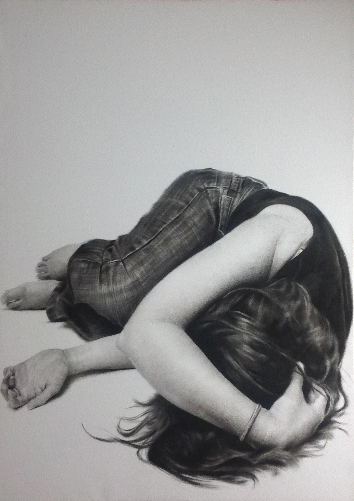 'Curl' by artist Donald Macdonald