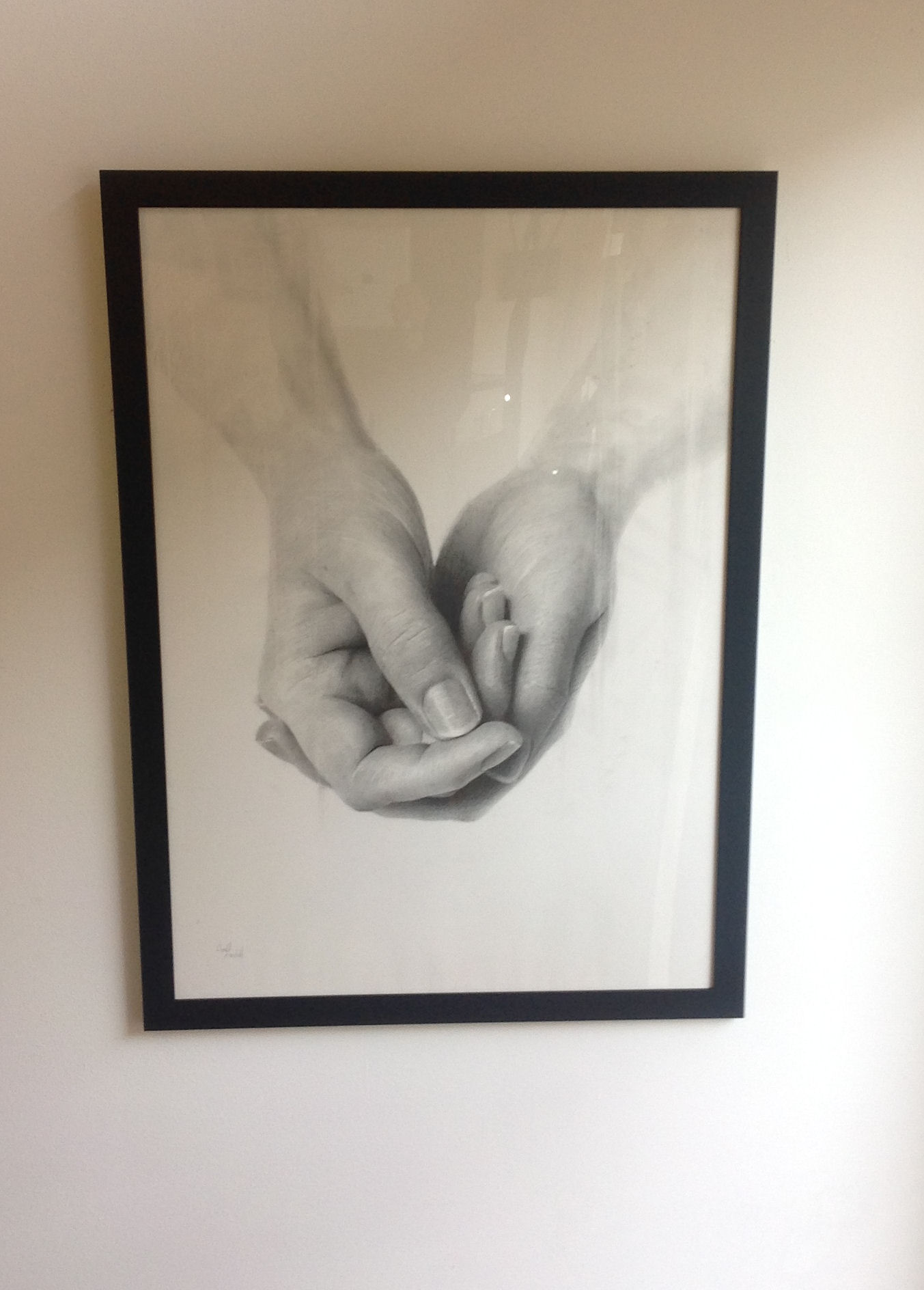 'Hand Study #1' by artist Donald Macdonald