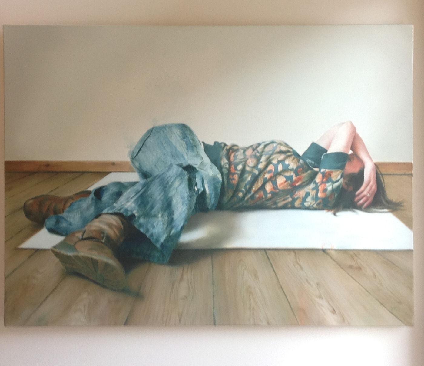 'Reclining Figure' by artist Donald Macdonald