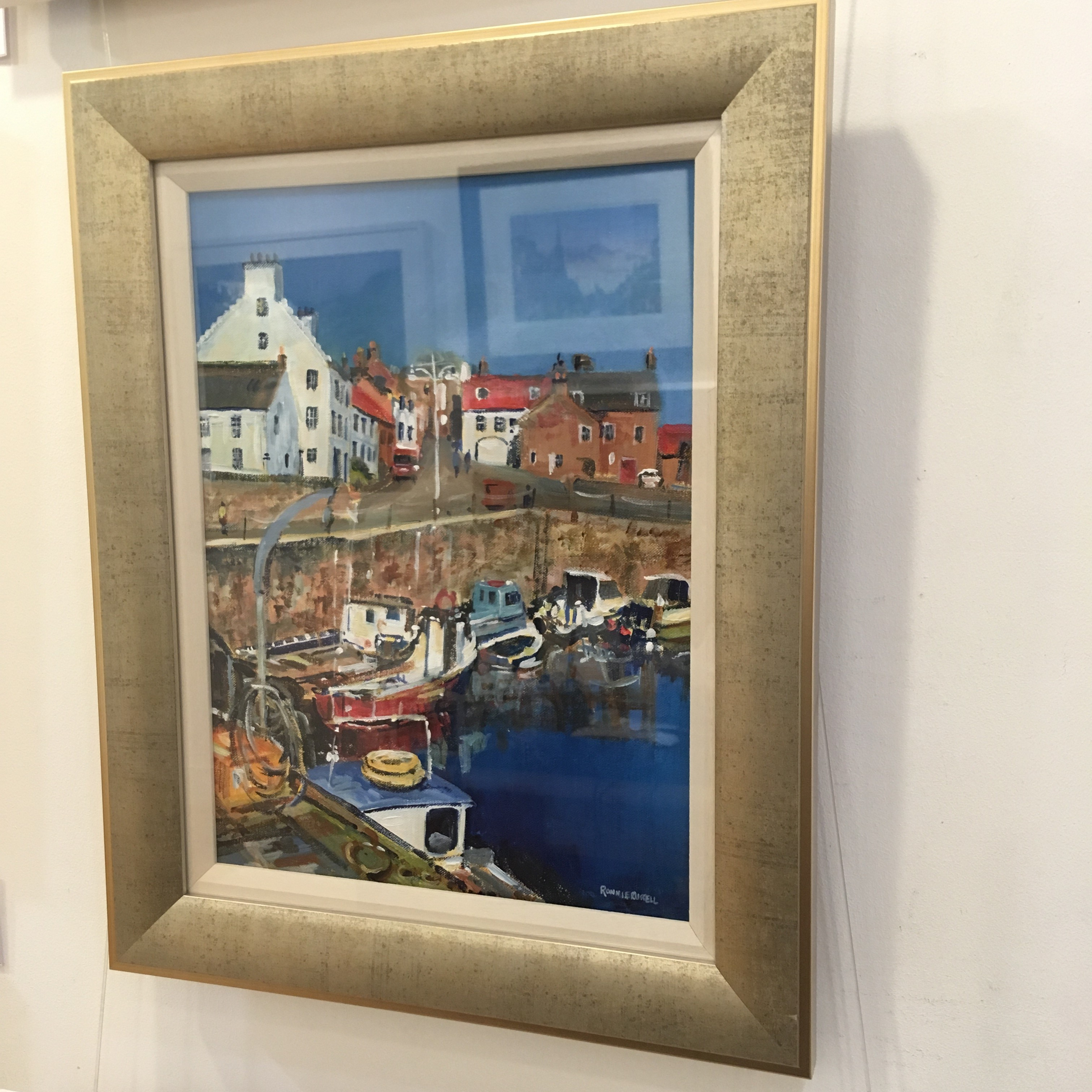'Summer Sun, Crail' by artist Ronnie Russell
