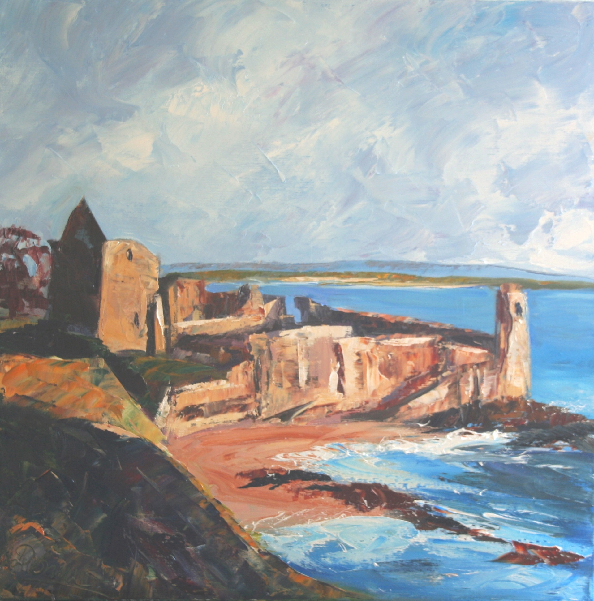 'St Andrews Castle' by artist  Dronma