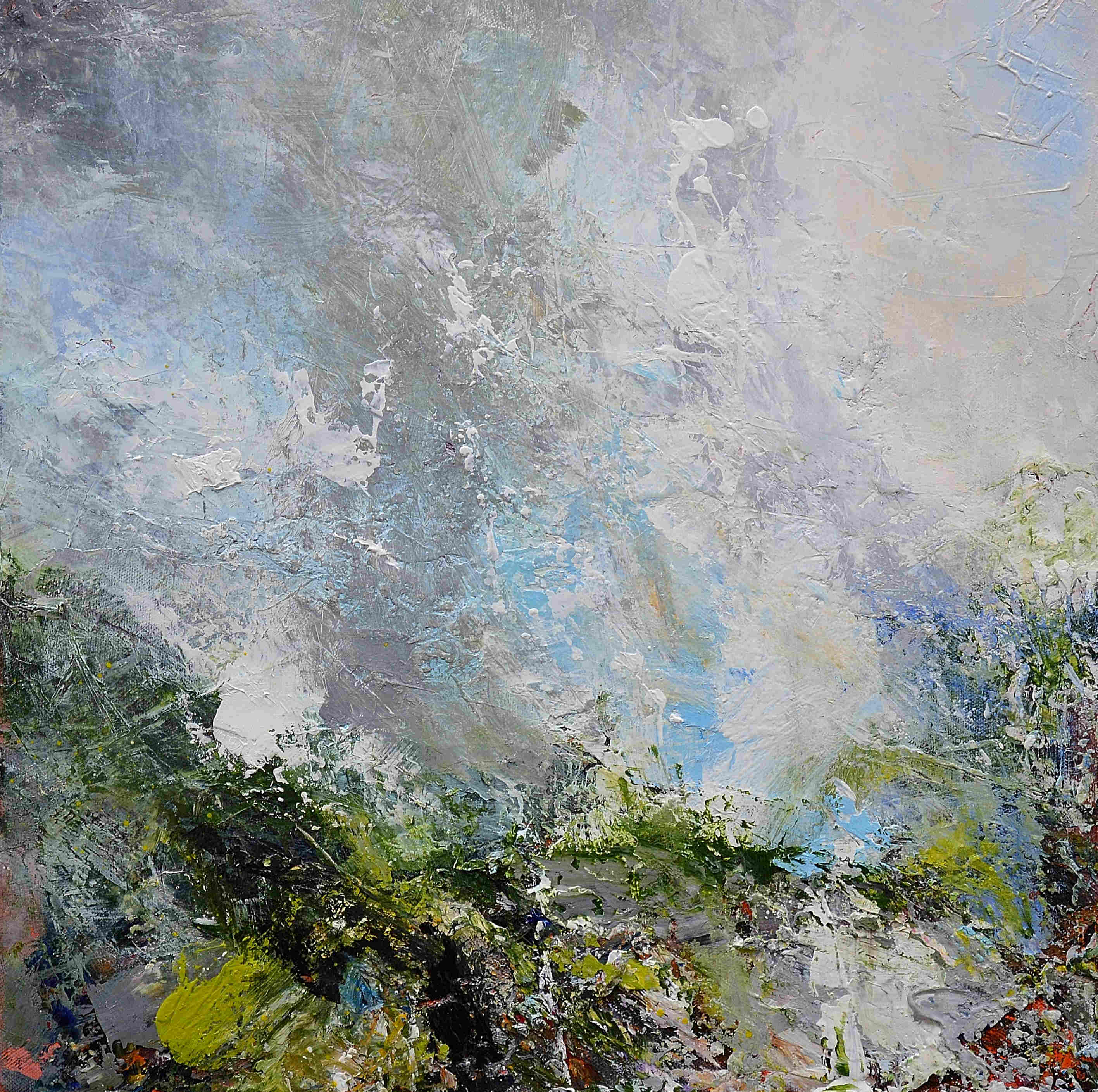 'Heavy Ground, Clearing Sky' by artist Matthew Bourne