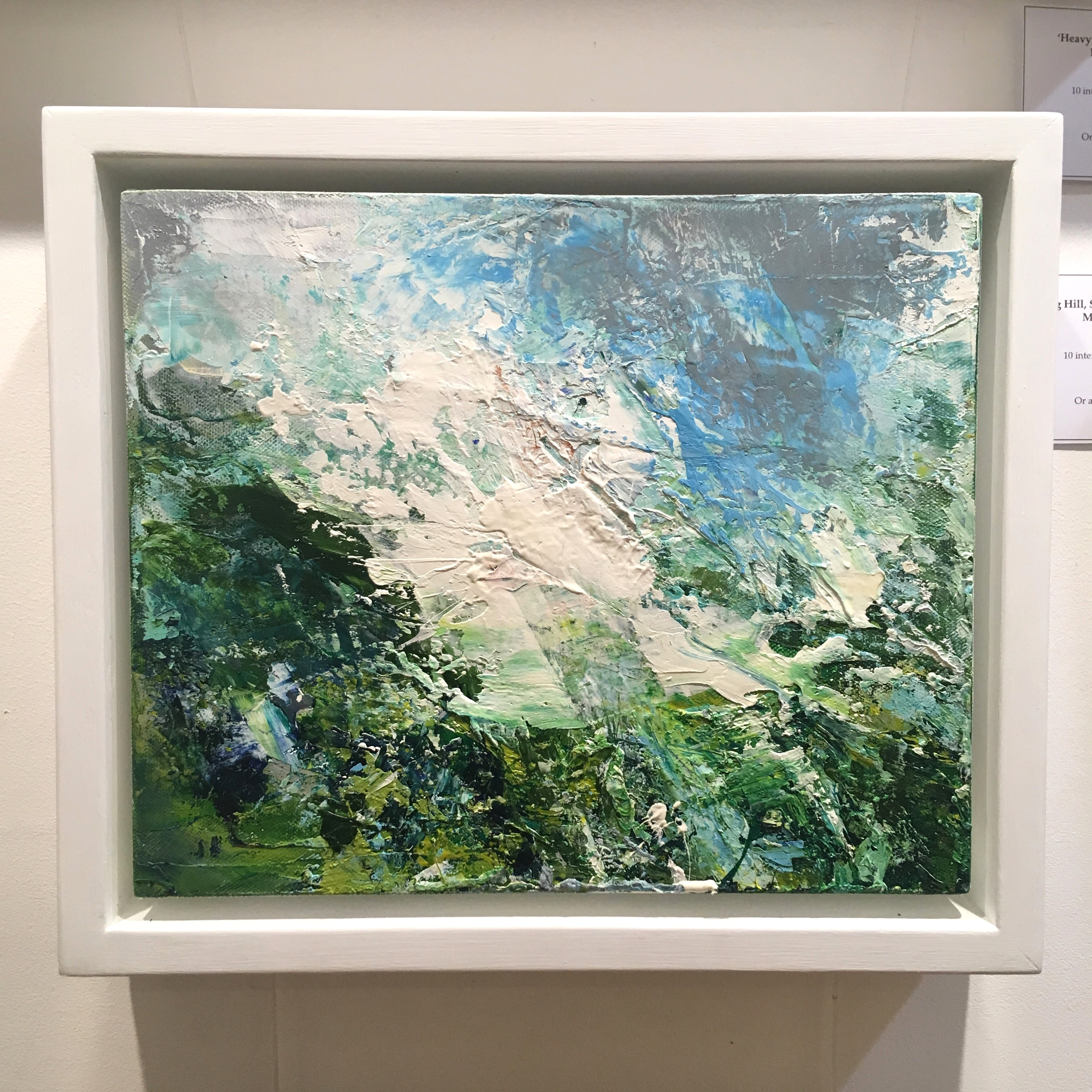 'Rolling Hill, Strong Wind, Wild Grasses' by artist Matthew Bourne