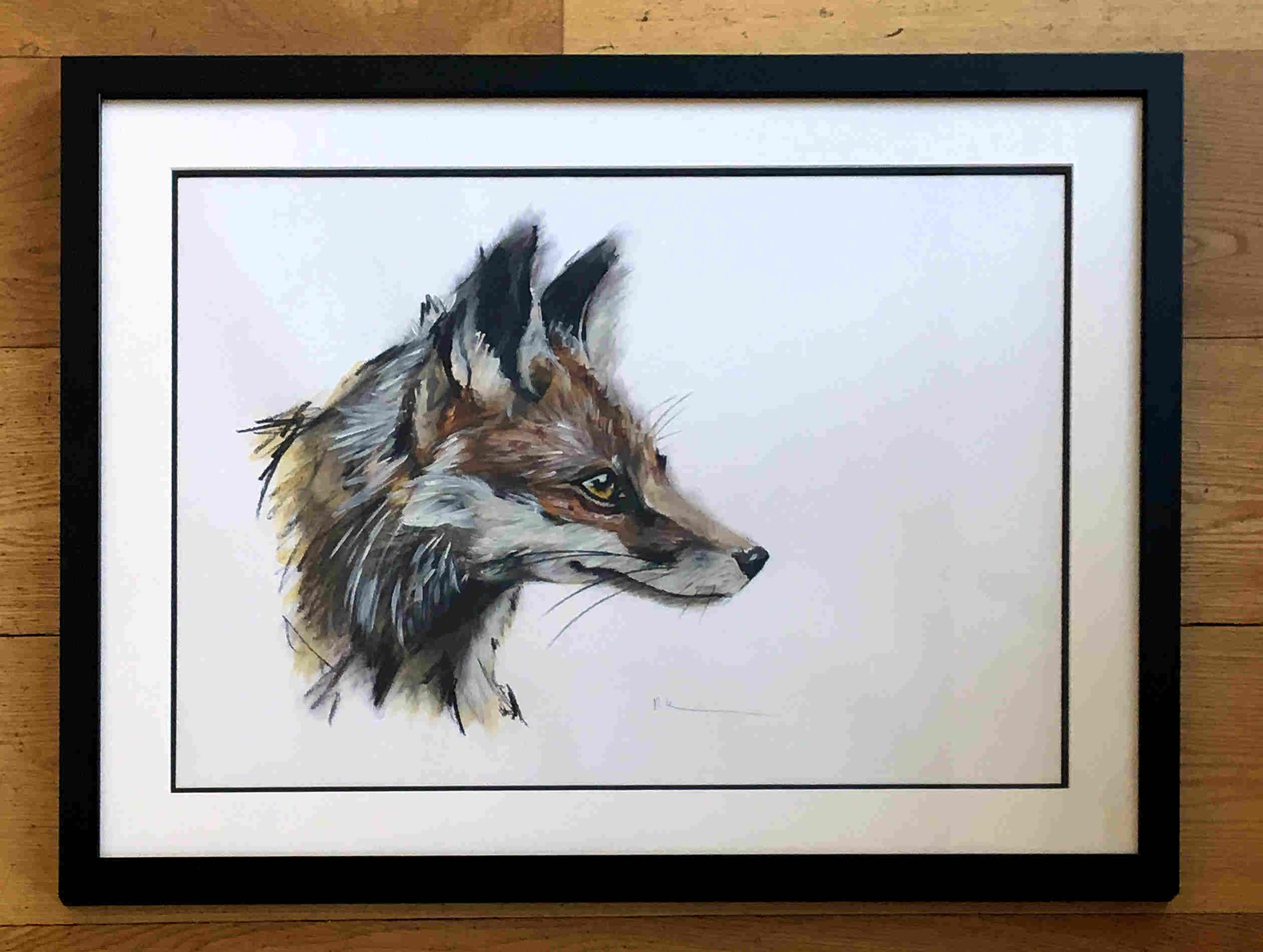 'Fox' by artist Rebecca Kelly