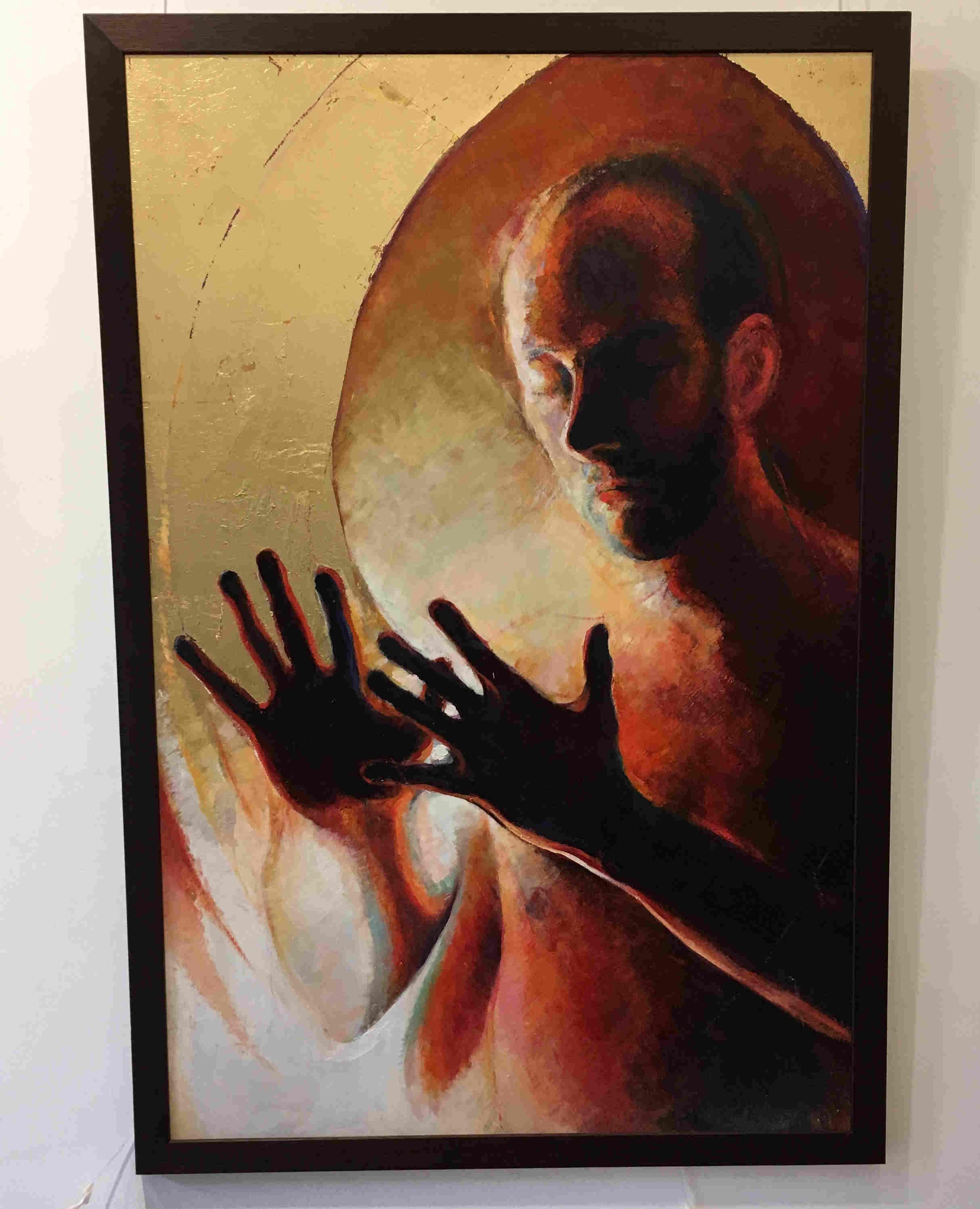 'Comfort in the Light' by artist Ben DaviesJenkins