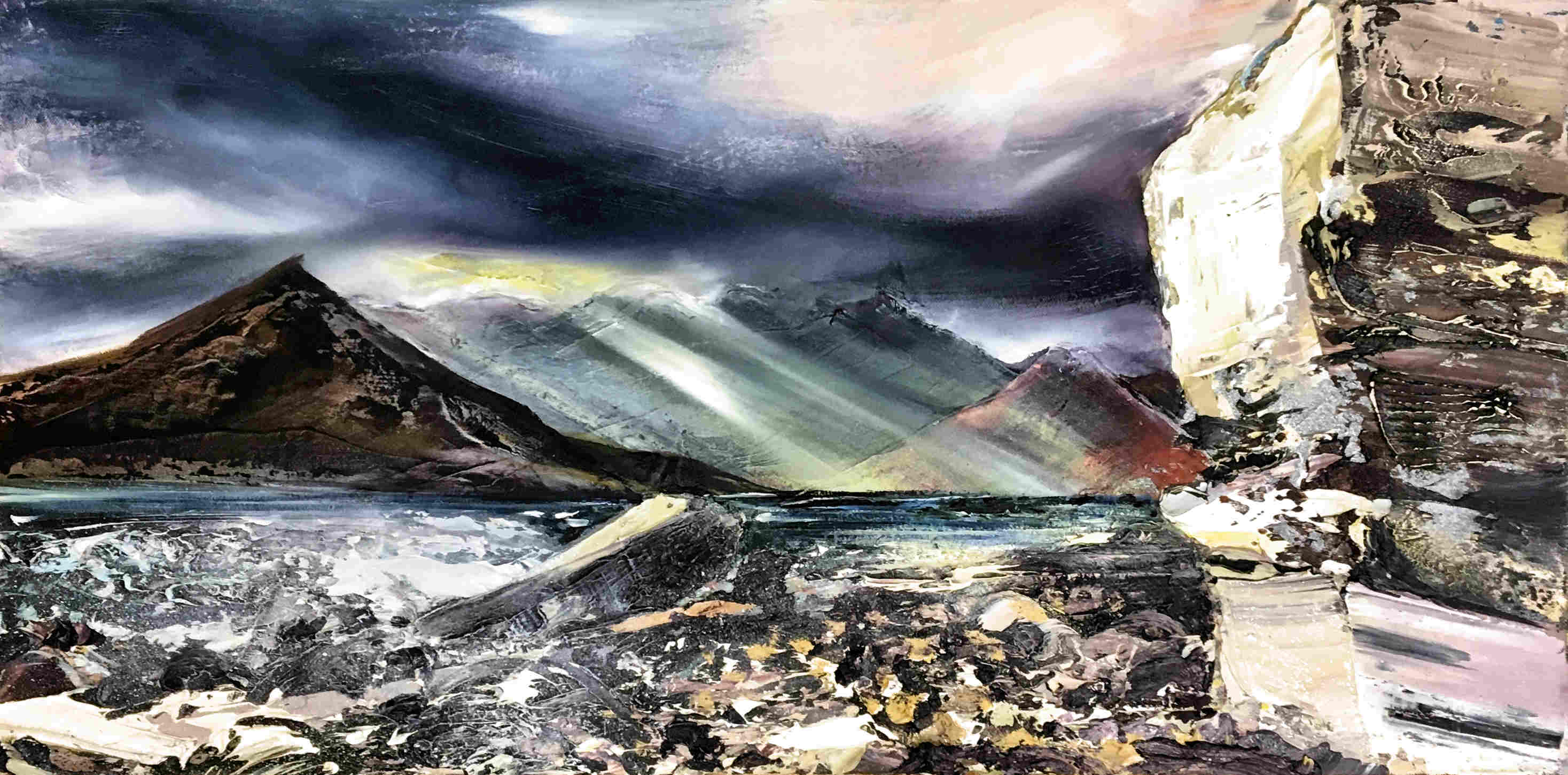 'Elgol' by artist Shazia Mahmood