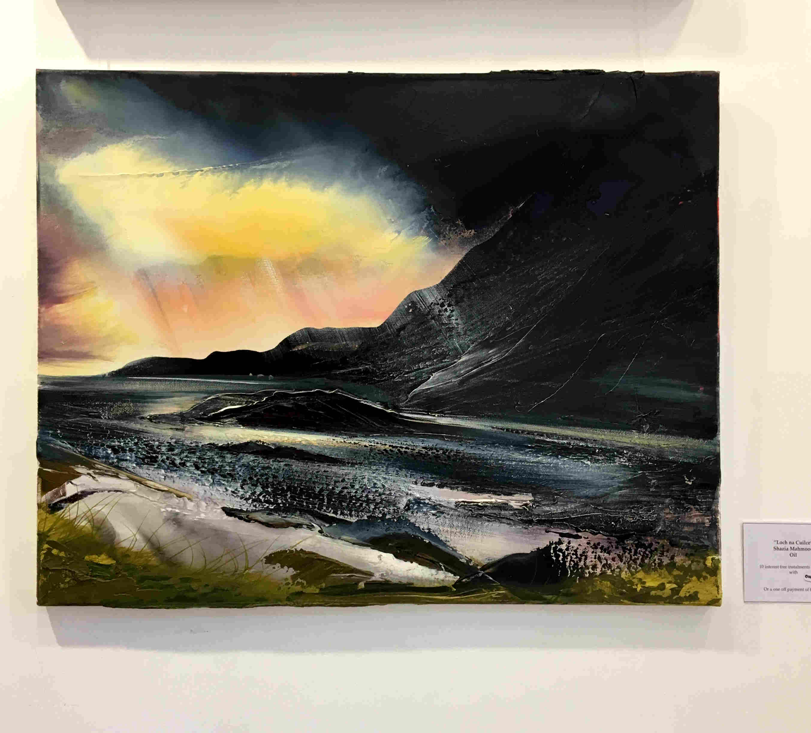 'Loch na Cuilce' by artist Shazia Mahmood