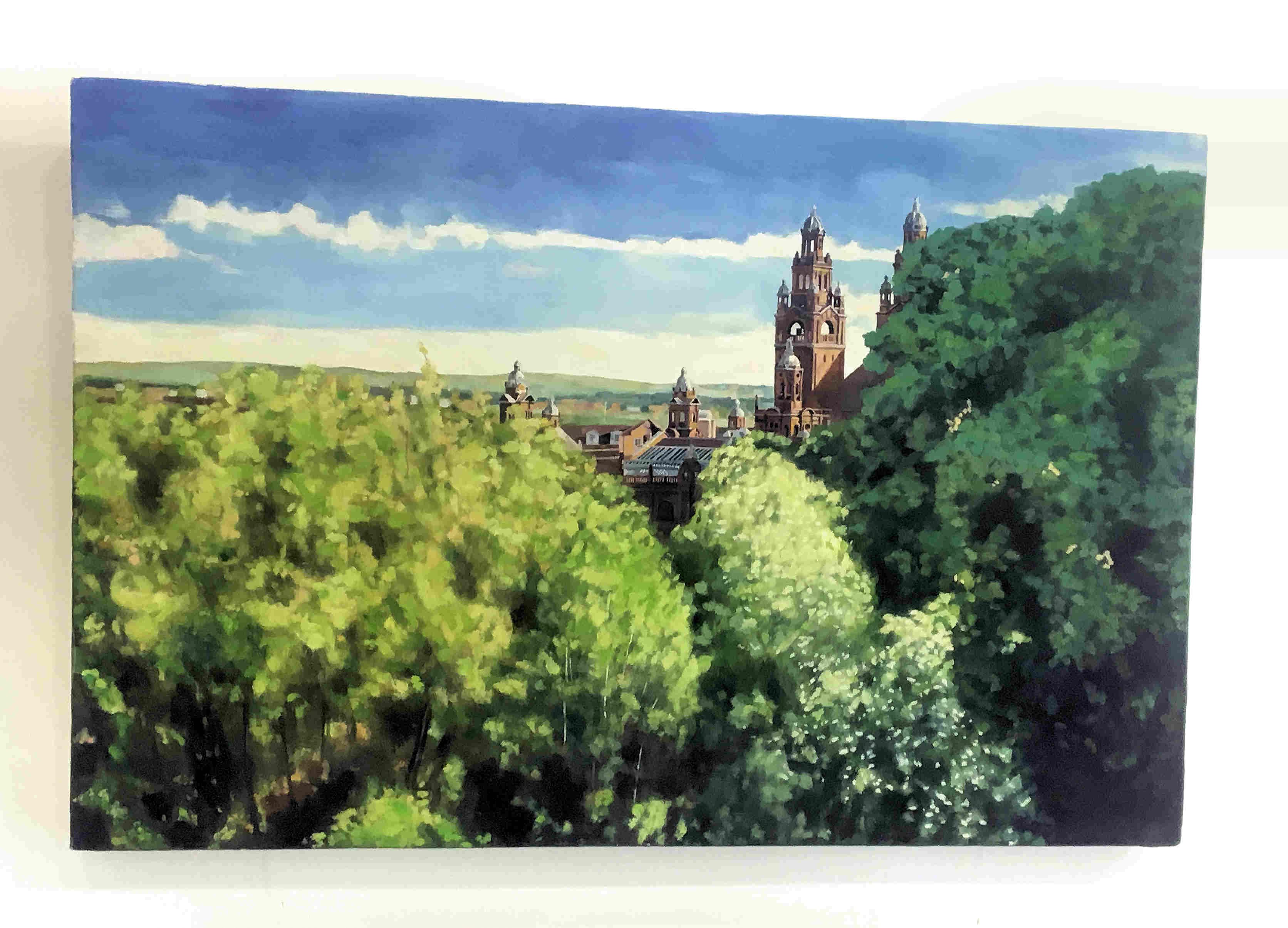 'Kelvingrove Spring' by artist Gavin Weir