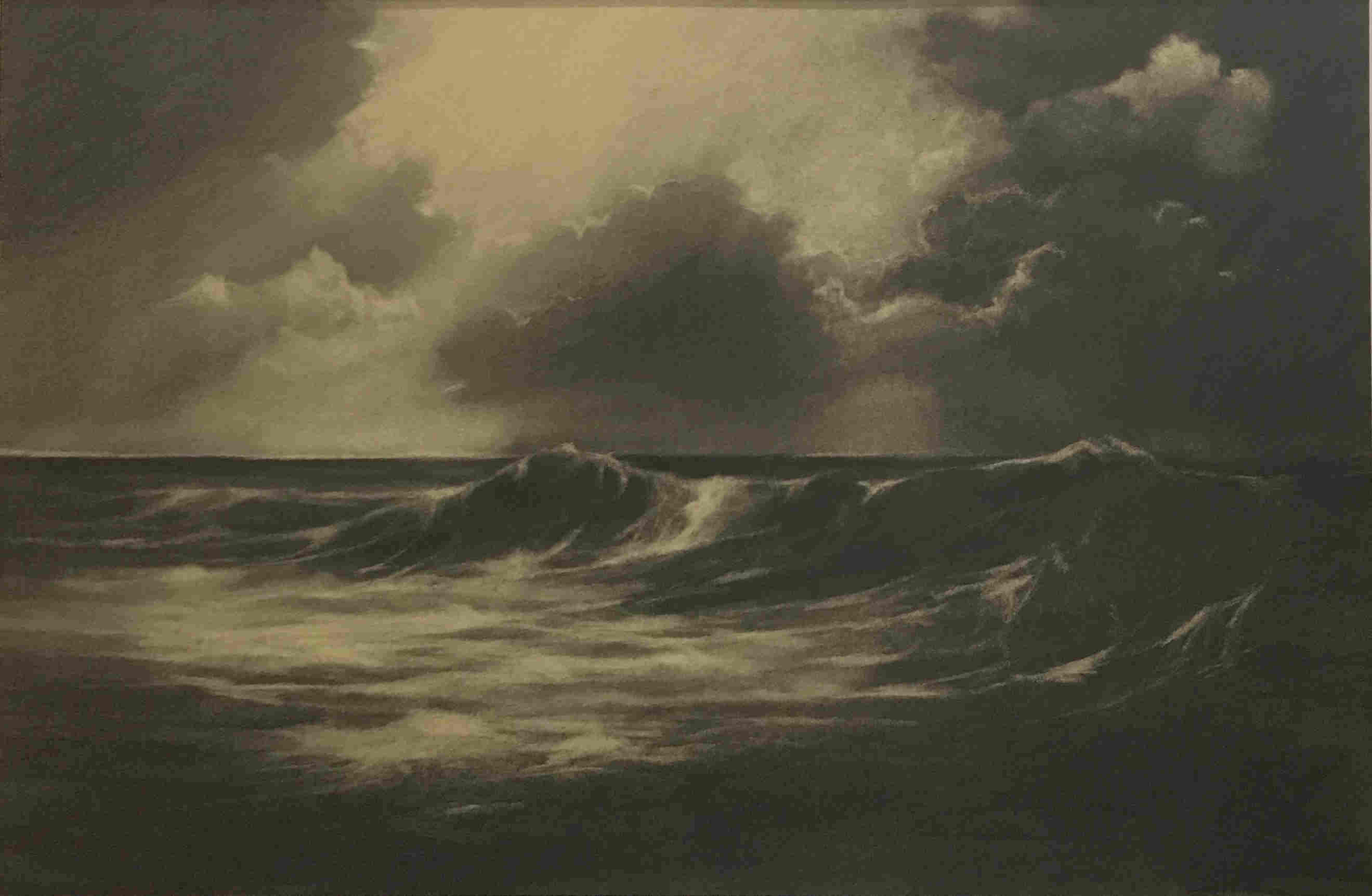'Dark Wave' by artist Alan S Watson