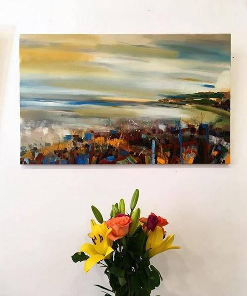 'Remembered Sunset' by artist John Gerard Anusas