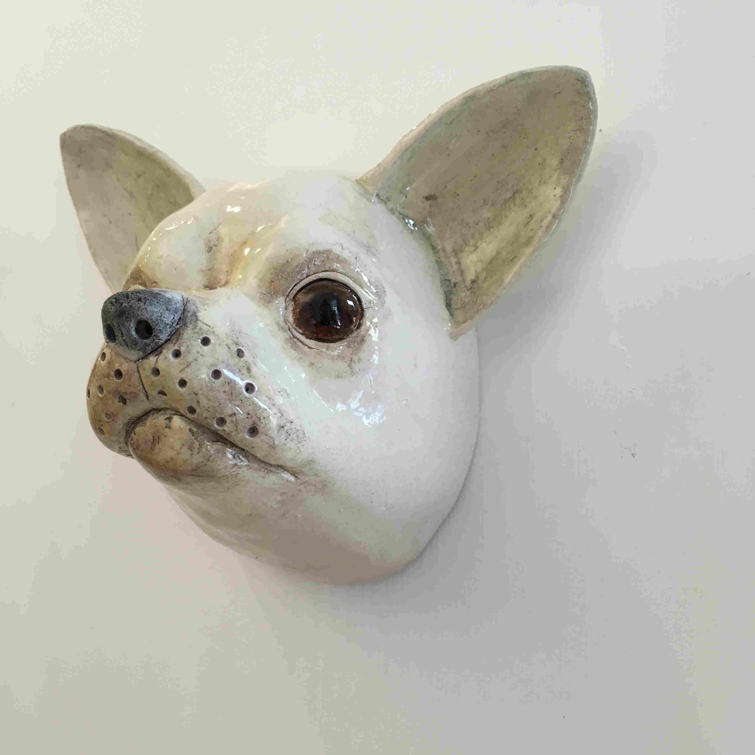 "'Chihuahua ""Bruiser""' by artist Alex Johannsen"