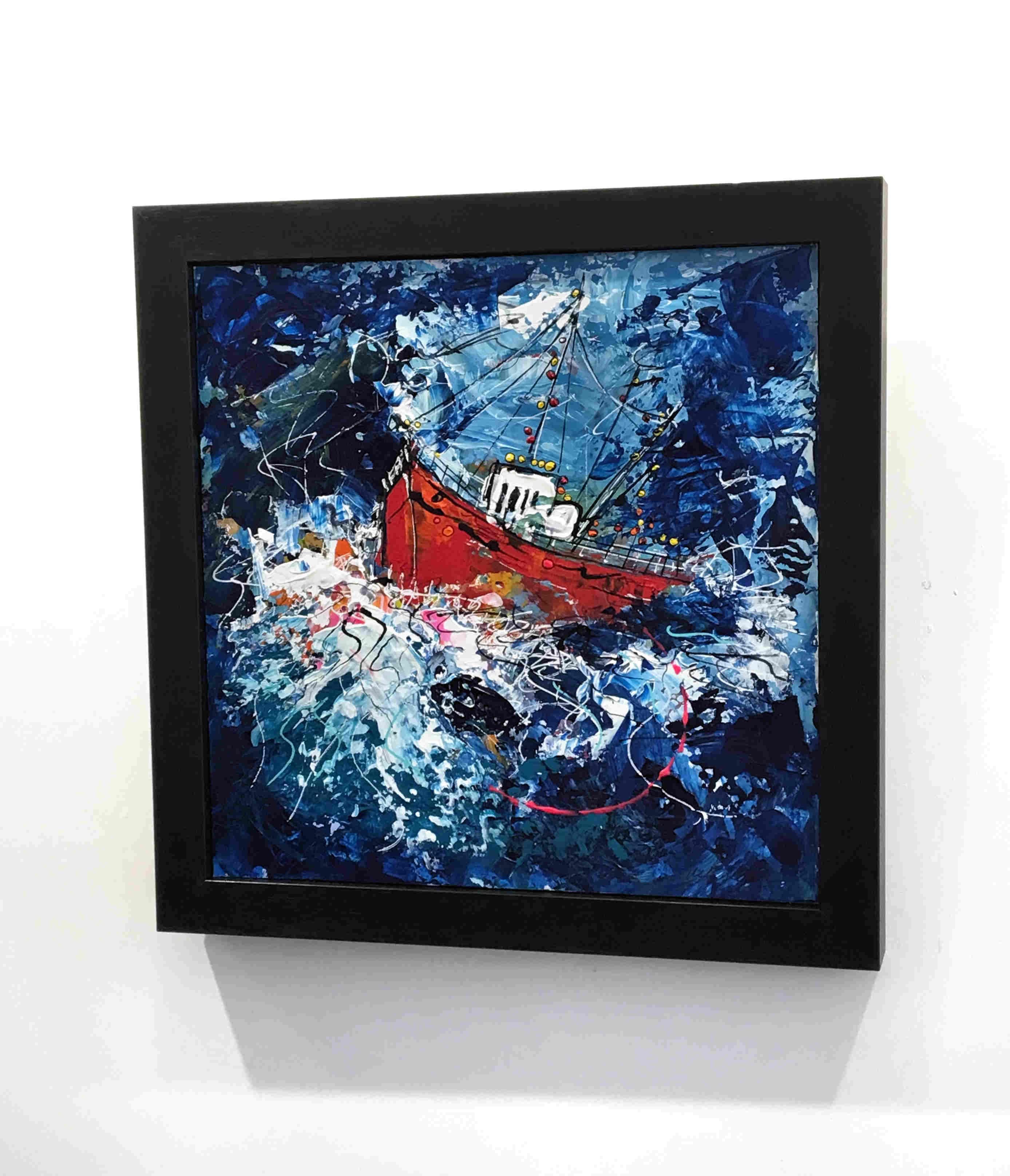 'Summer Storm' by artist Martin John Fowler