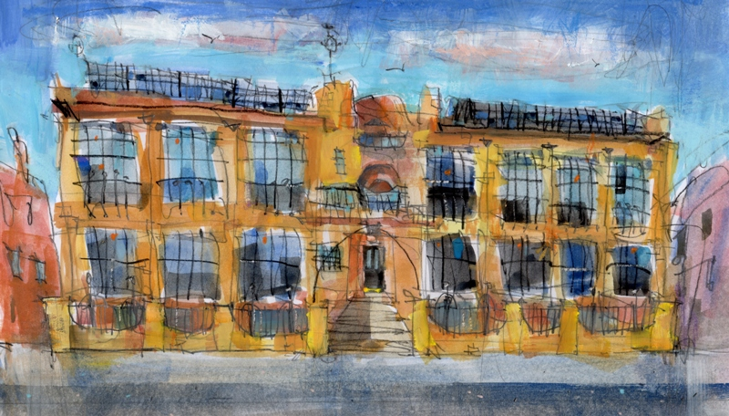 'Glasgow School of Art' by artist Ron Eardley