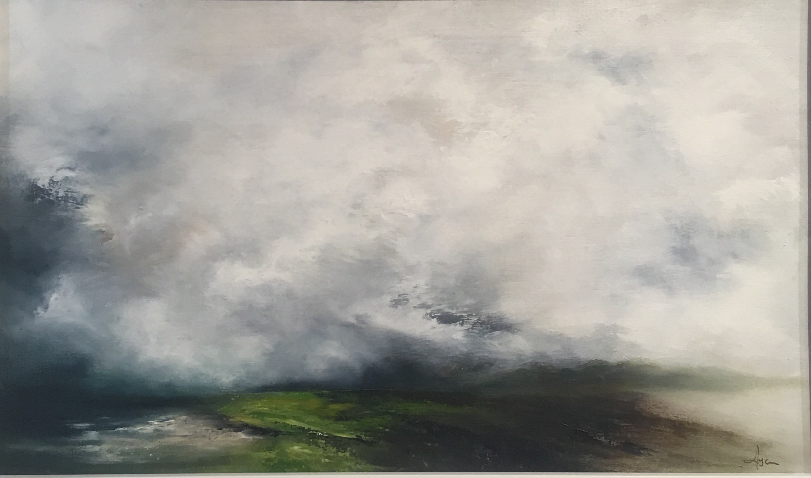 'Cloud on the Machair, Ardgour' by artist Alison Lyon