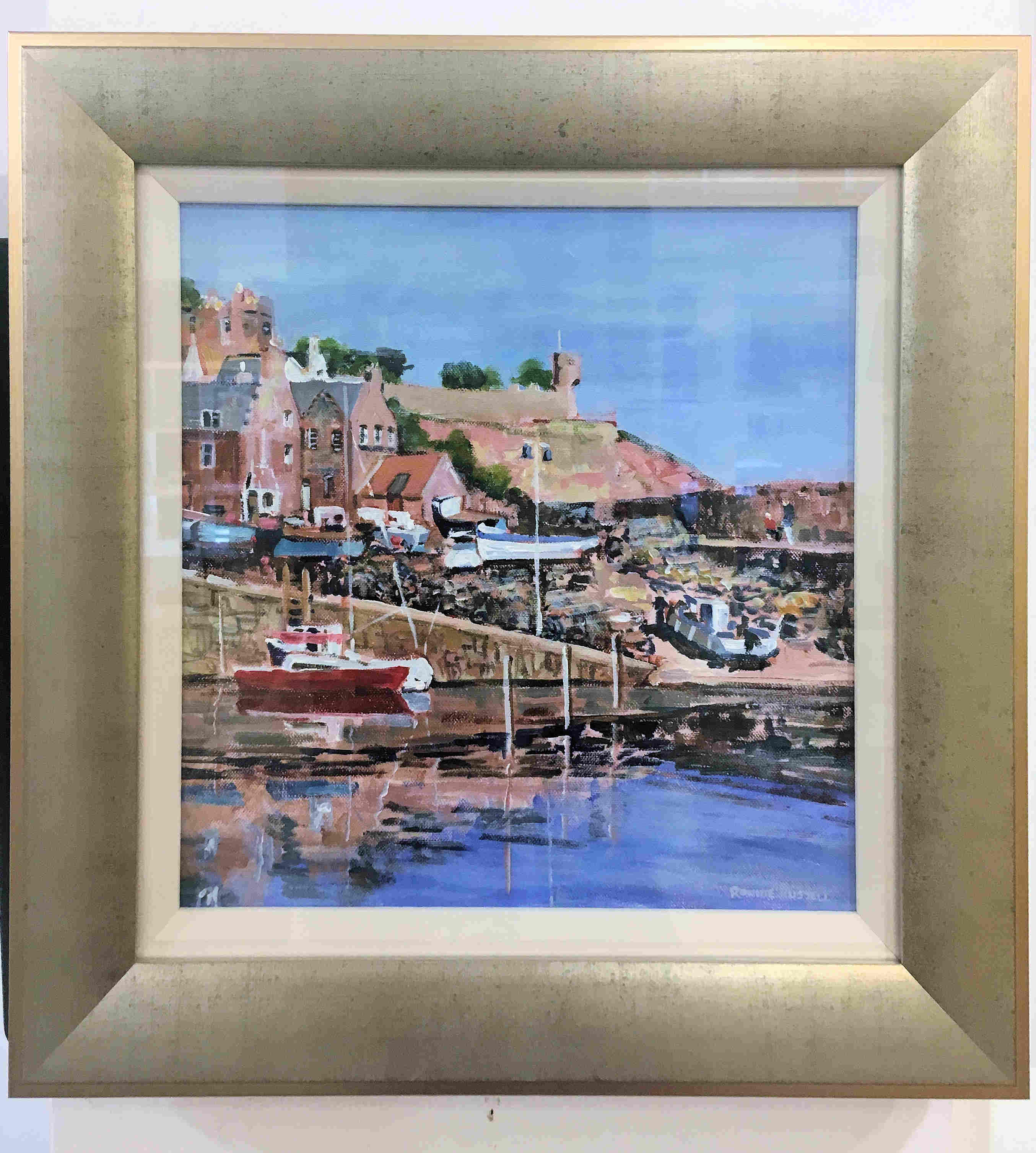 'Still Waters, Crail' by artist Ronnie Russell