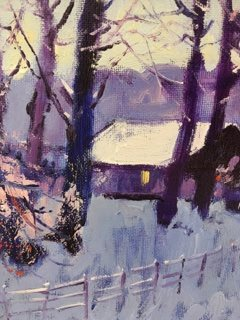 'Winter Branches, Pollock Park' by artist Ian Elliot