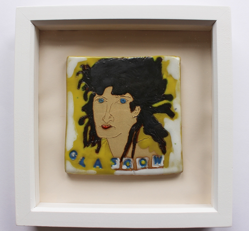 'Glasgow Girl' by artist Sian Mather