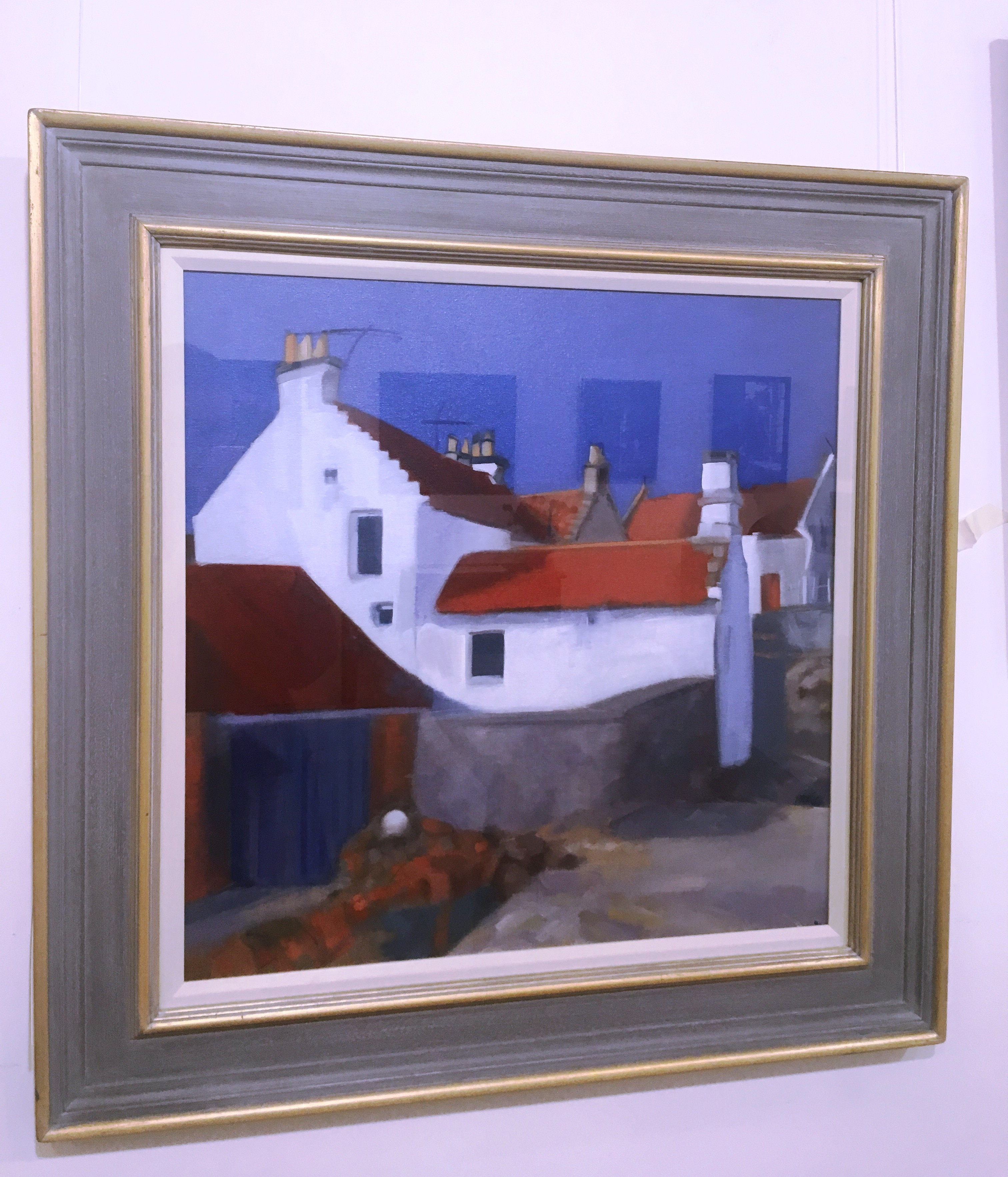 'Against Tomorrow's Sky (Pittenweem Harbour) ' by artist Pauline Patrick