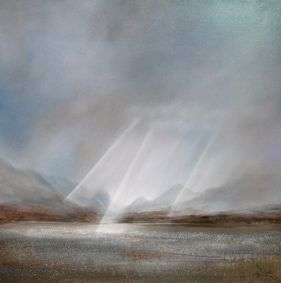 'Cuillins, Isle of Skye from the Mainland' by artist Peter Dworok