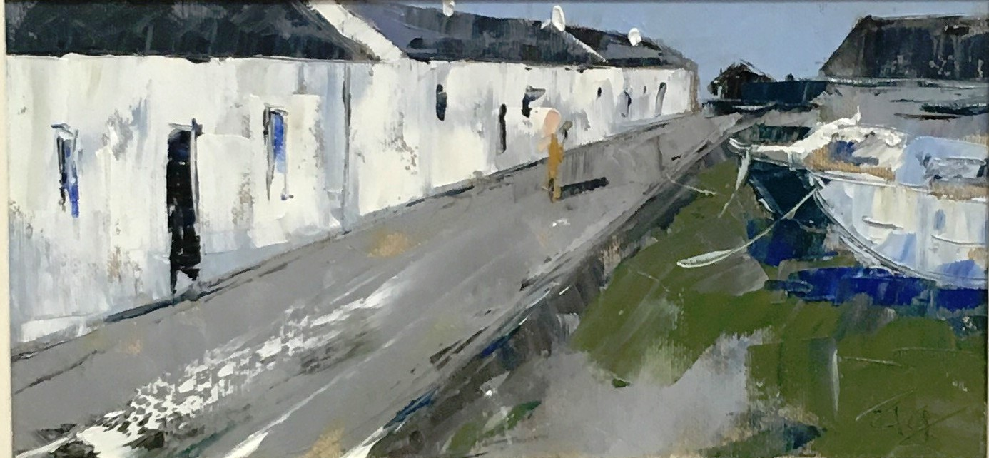 'Arinagour, Isle of Coll' by artist Paul Graham