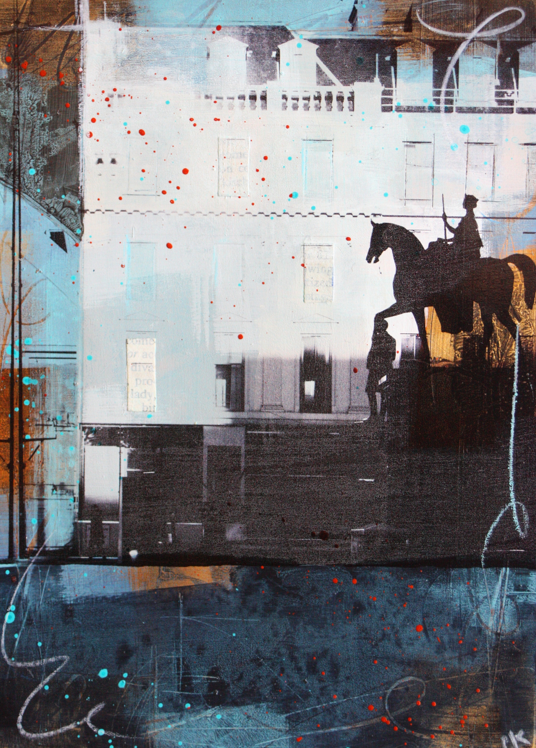 'Glasgow Streetscape #8' by artist Claire Kennedy
