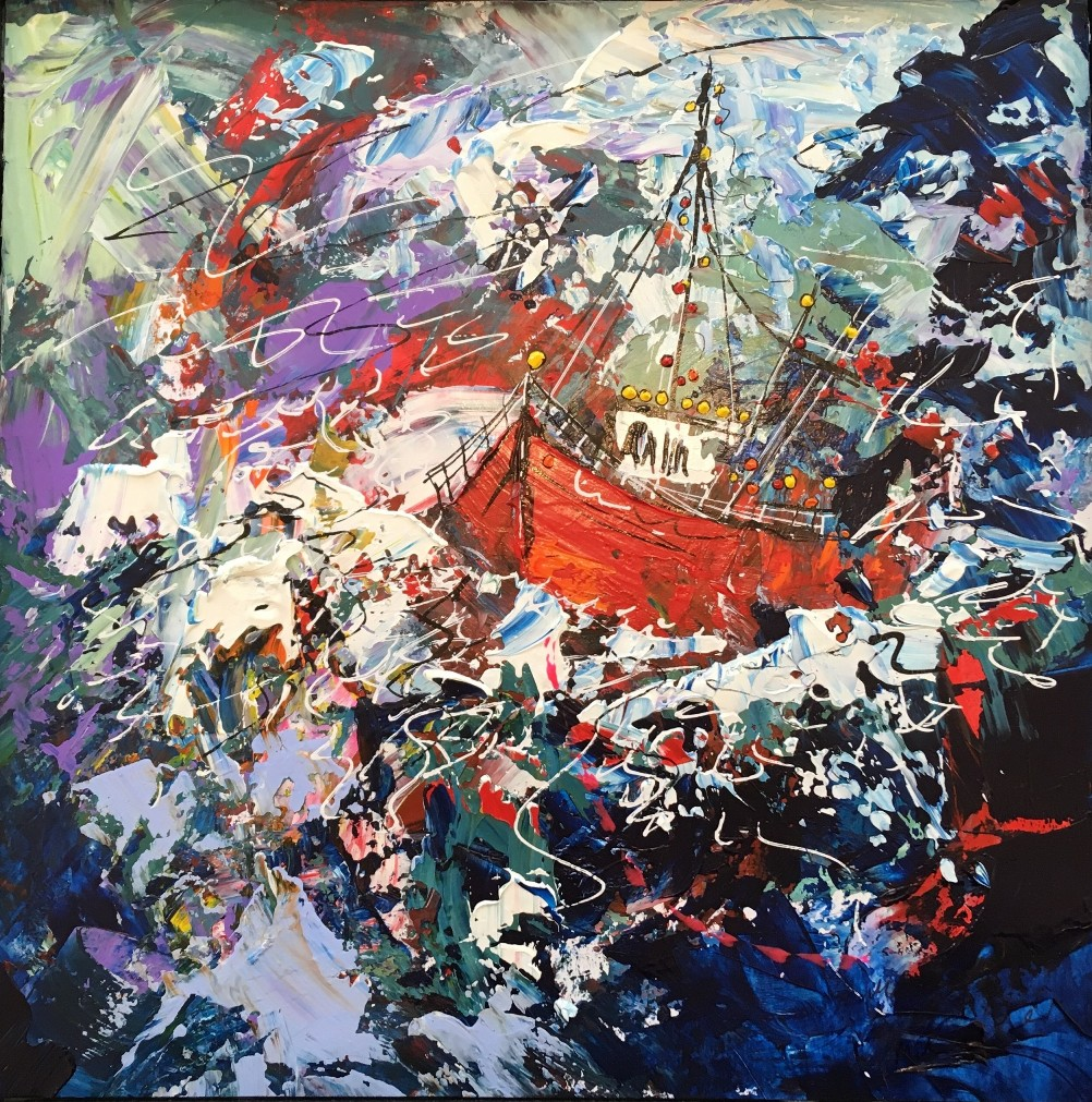 'Beyond the Storm' by artist Martin John Fowler