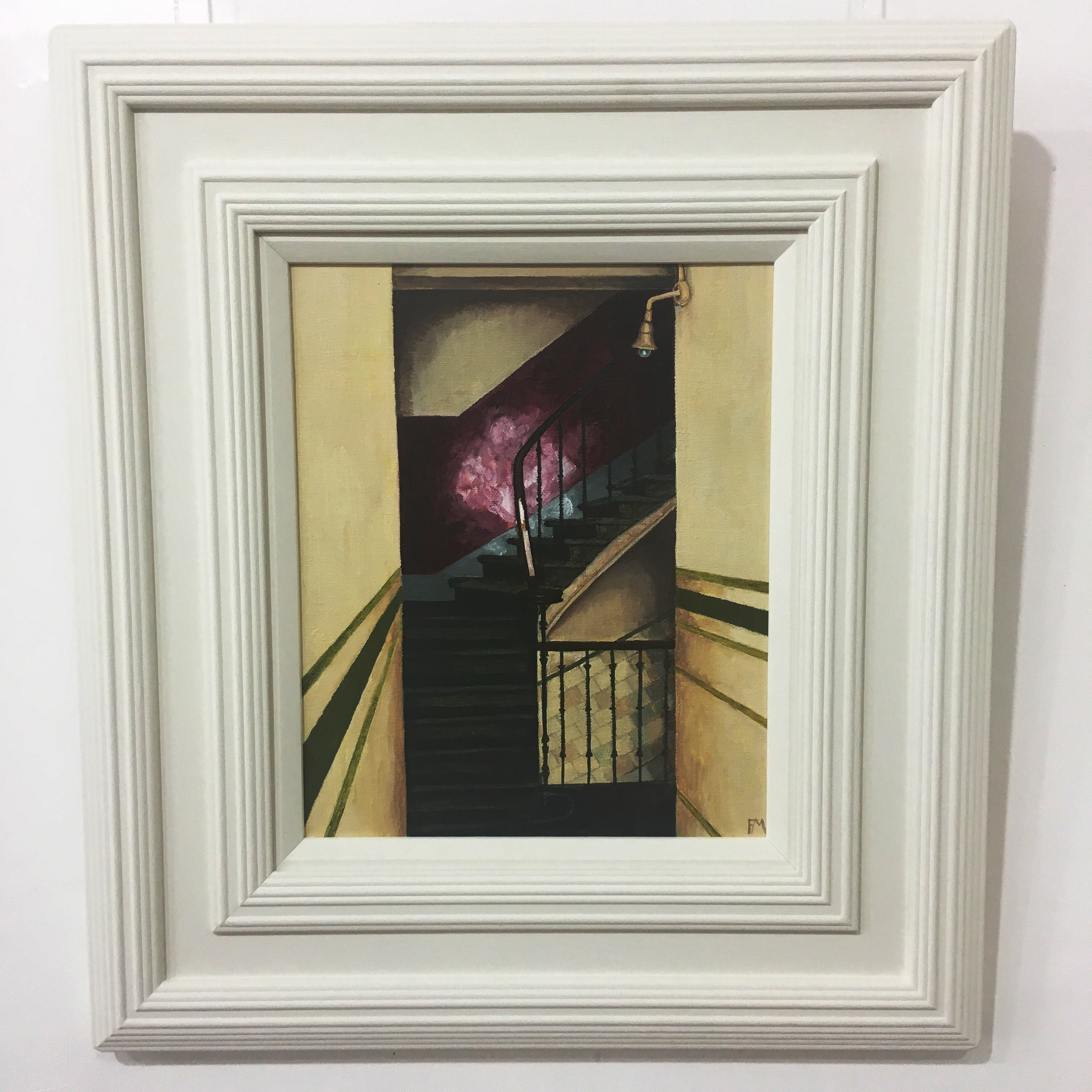 'Partick Red Close' by artist Frank McNab