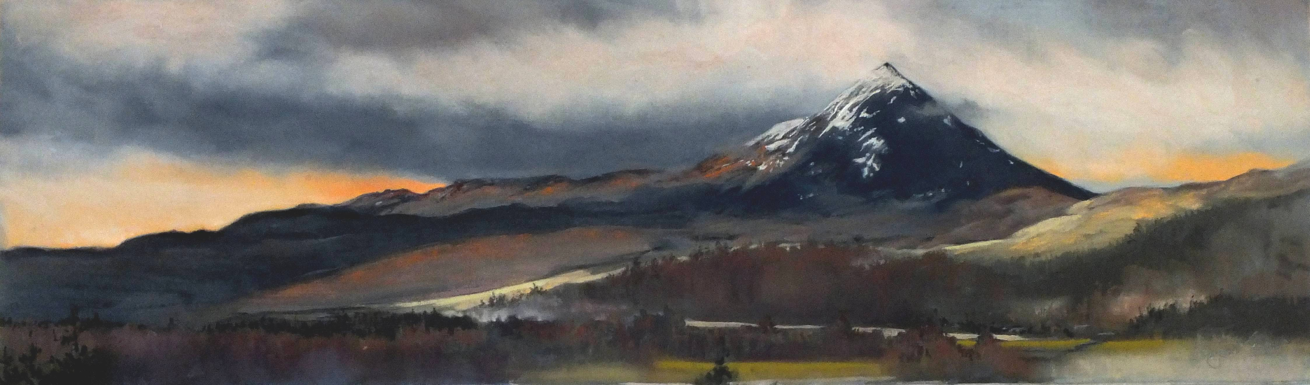 'Rannoch Mists' by artist Margaret Evans