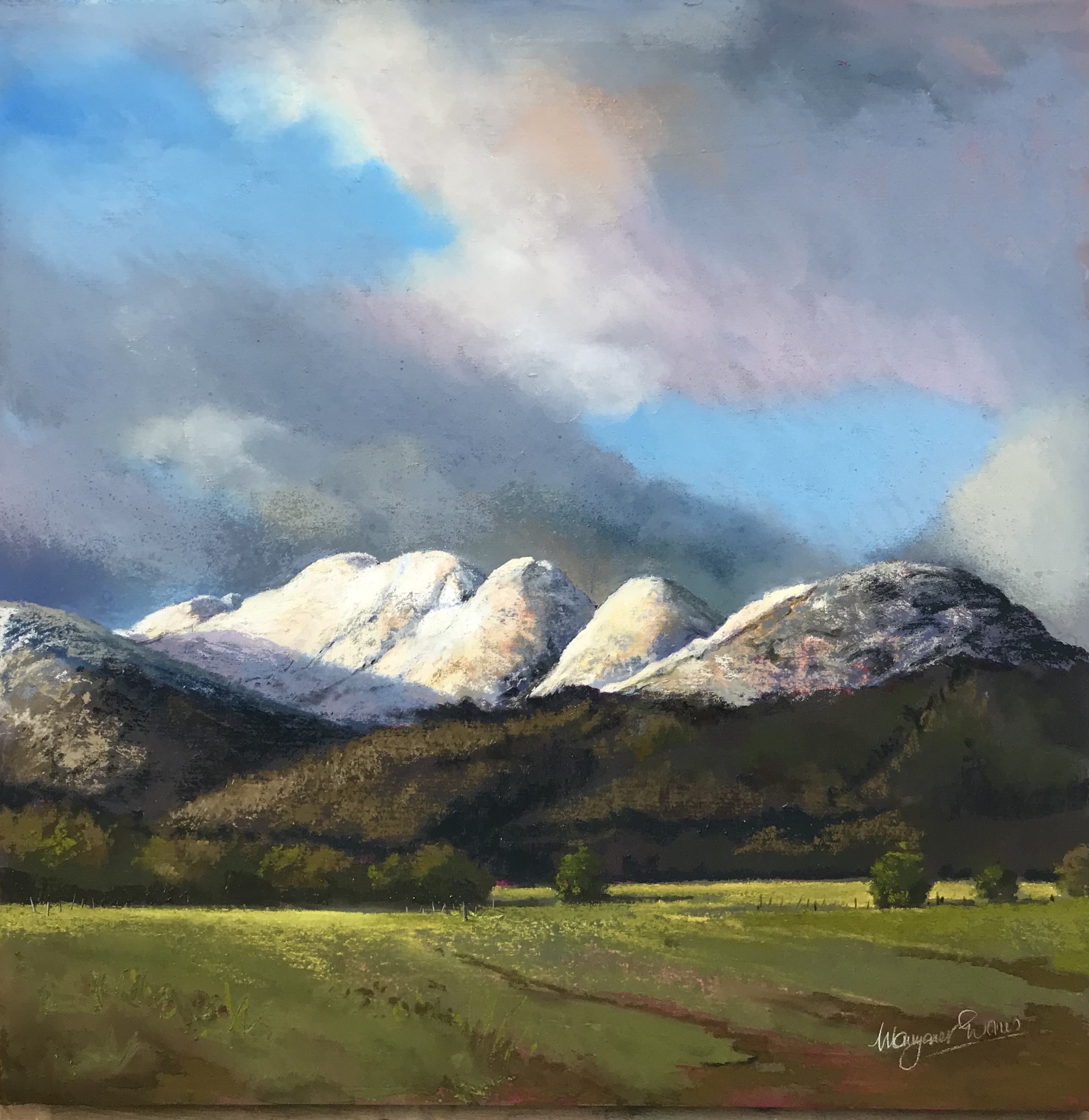 'Glen Artney from Comrie' by artist Margaret Evans