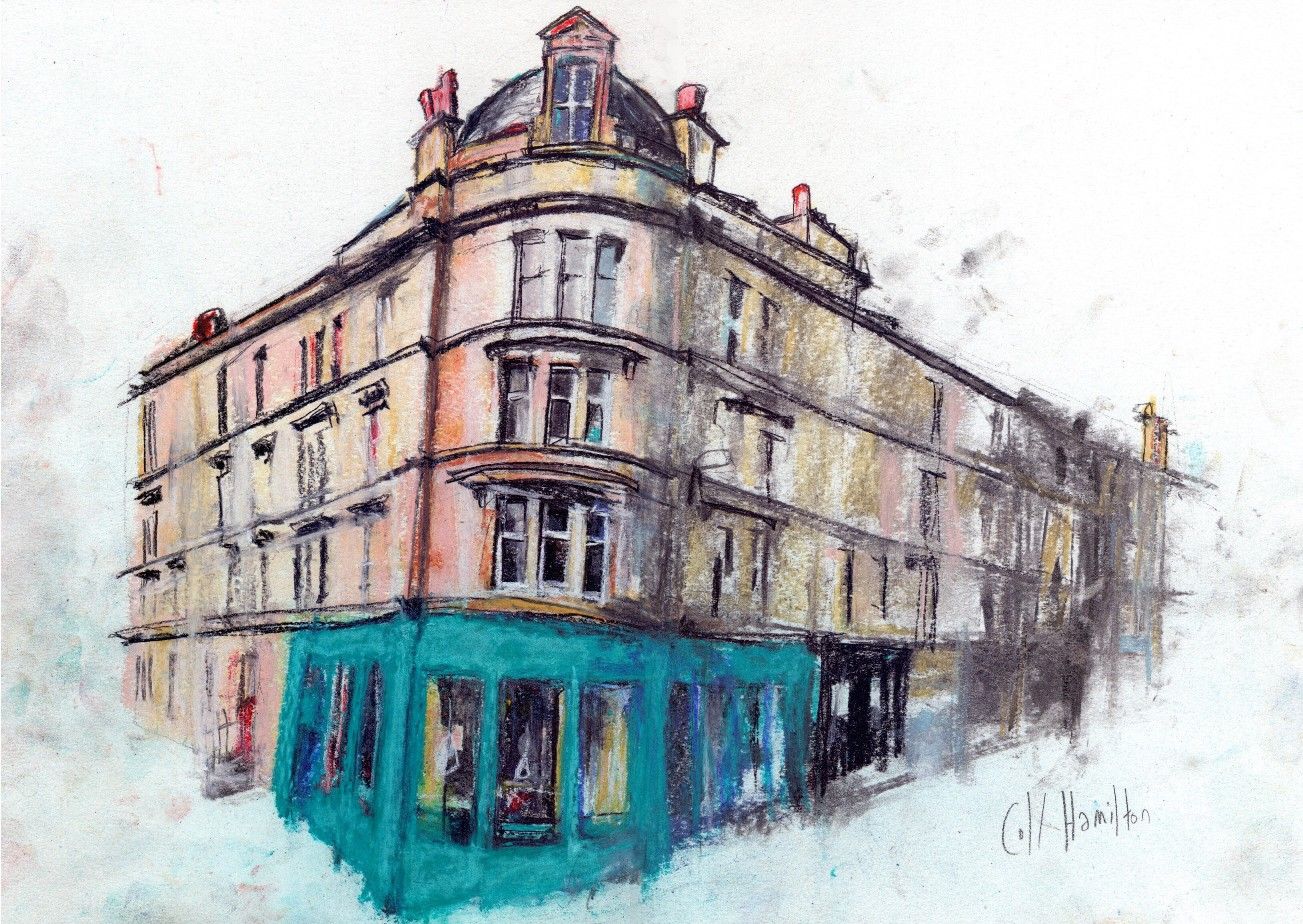 'Bottom of Gibson Street' by artist Coll Hamilton