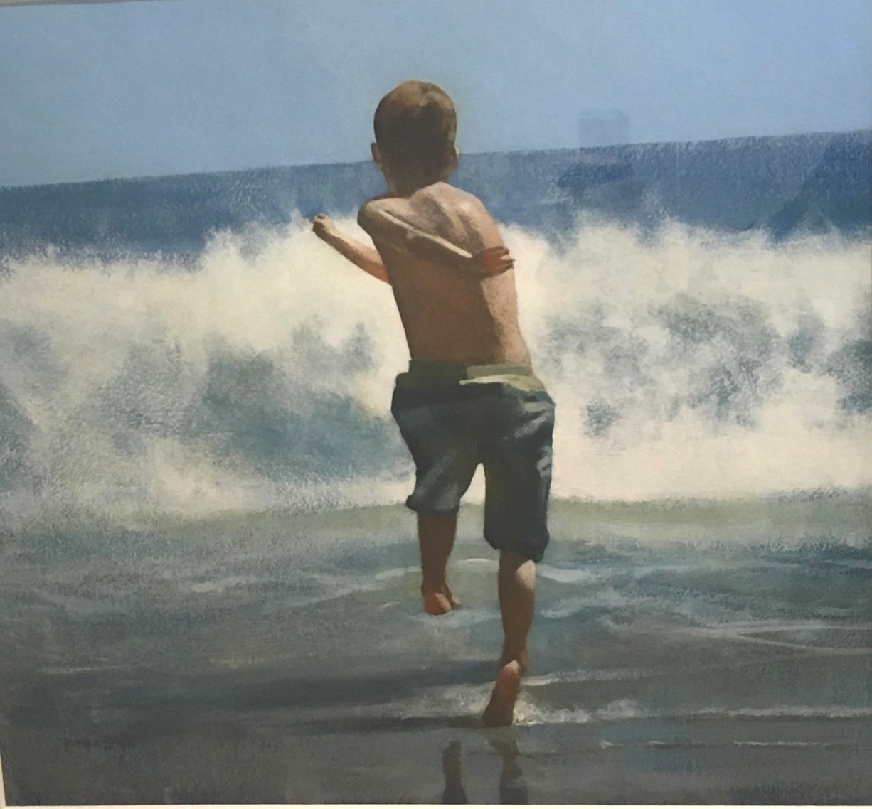 'Here I Come' by artist Peter Nardini